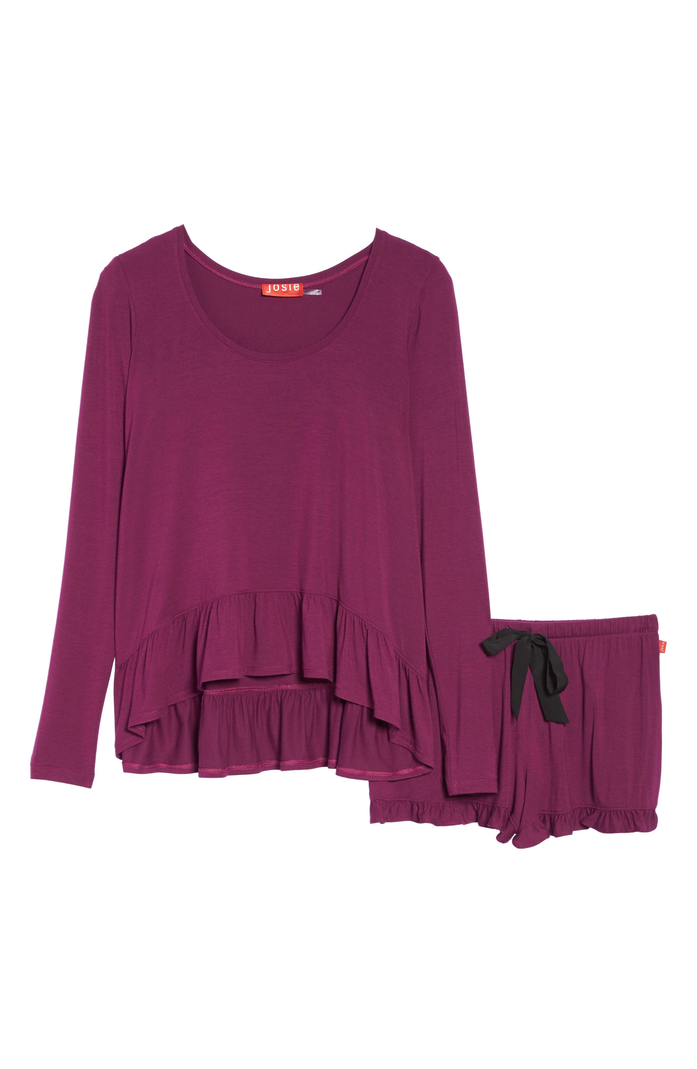 Alternate Image 4  - Josie Jersey Pajamas