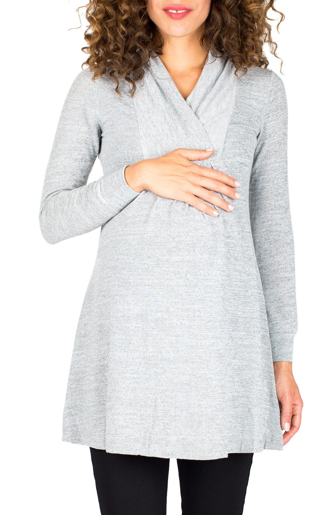 Nom Maternity 'Tanya' Jersey Maternity Tunic
