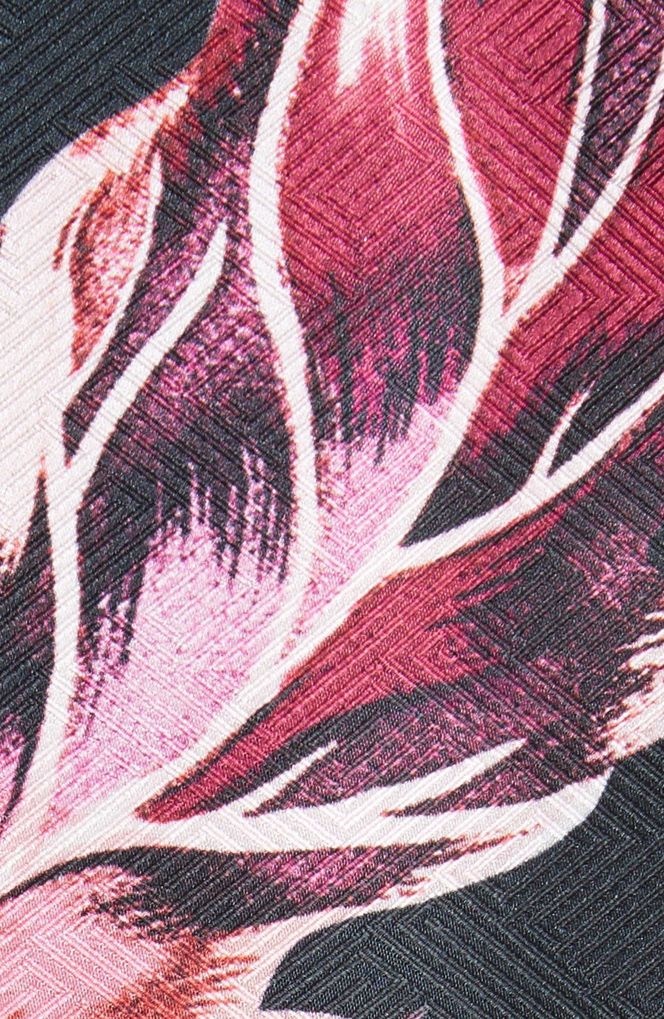 Leeash Eden Body Con Dress,                             Alternate thumbnail 5, color,                             Black