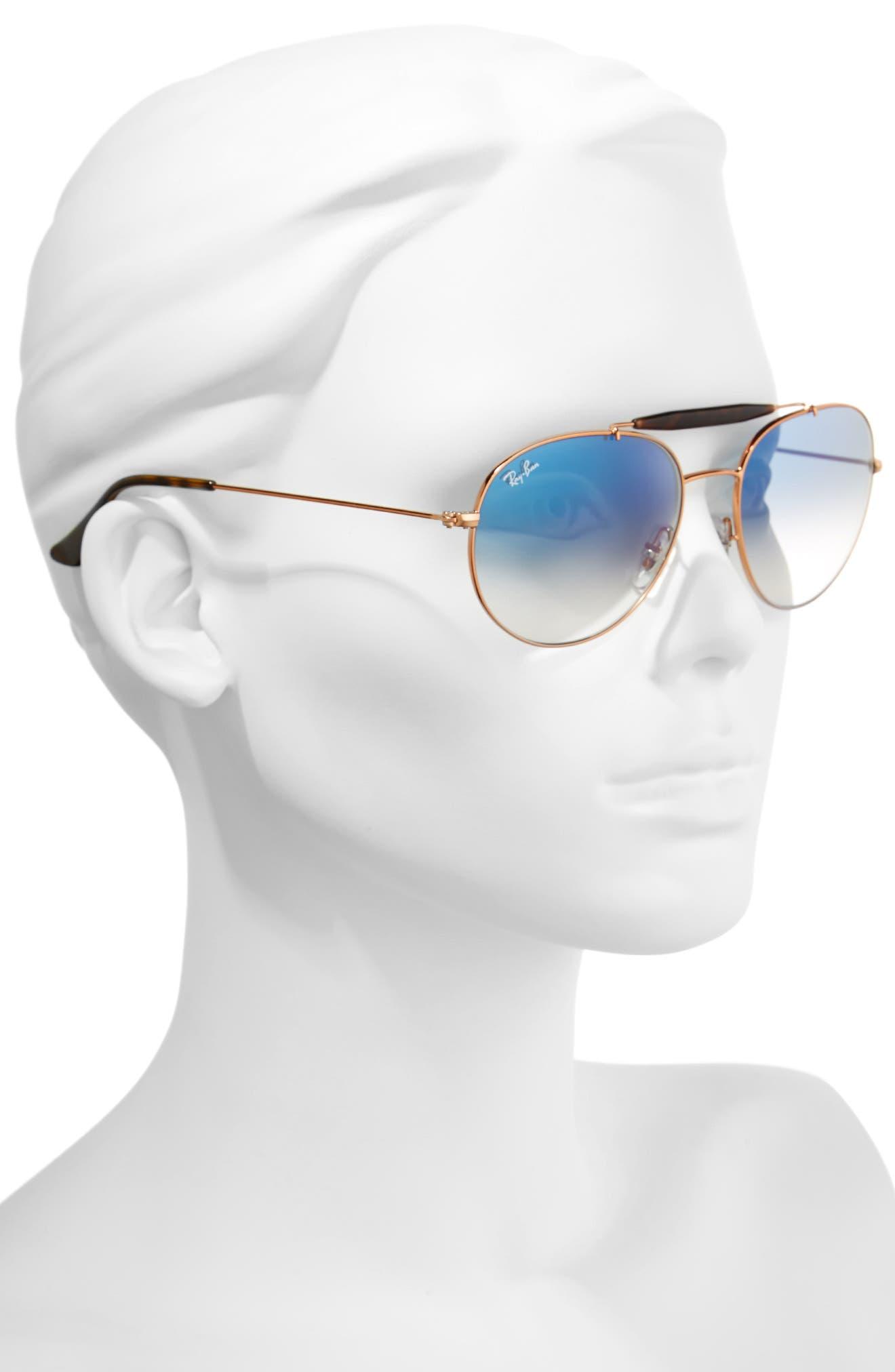 Alternate Image 2  - Ray-Ban Highstreet 56mm Sunglasses