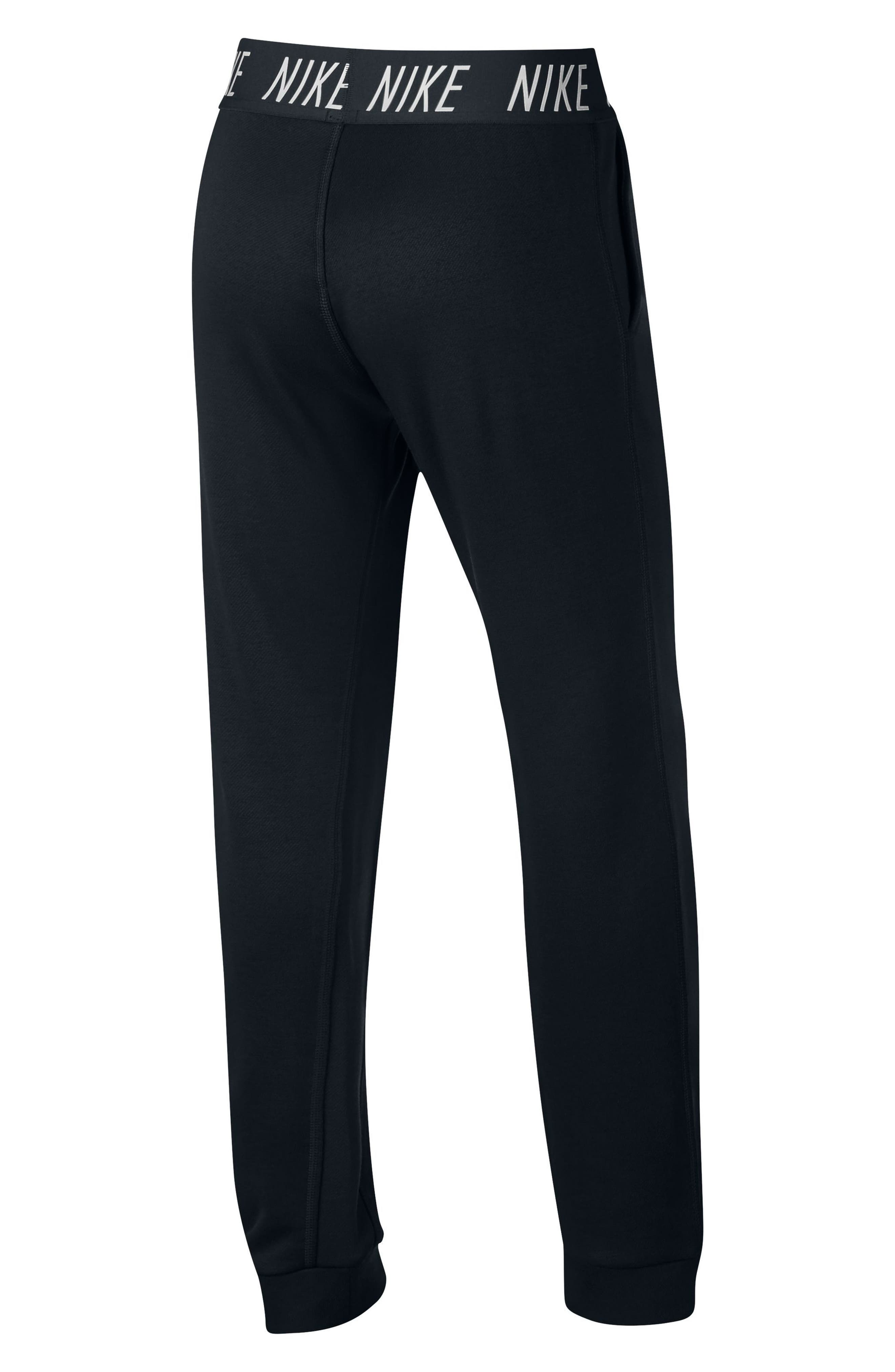 Alternate Image 2  - Nike Dry Core Studio Training Pants (Big Girls)