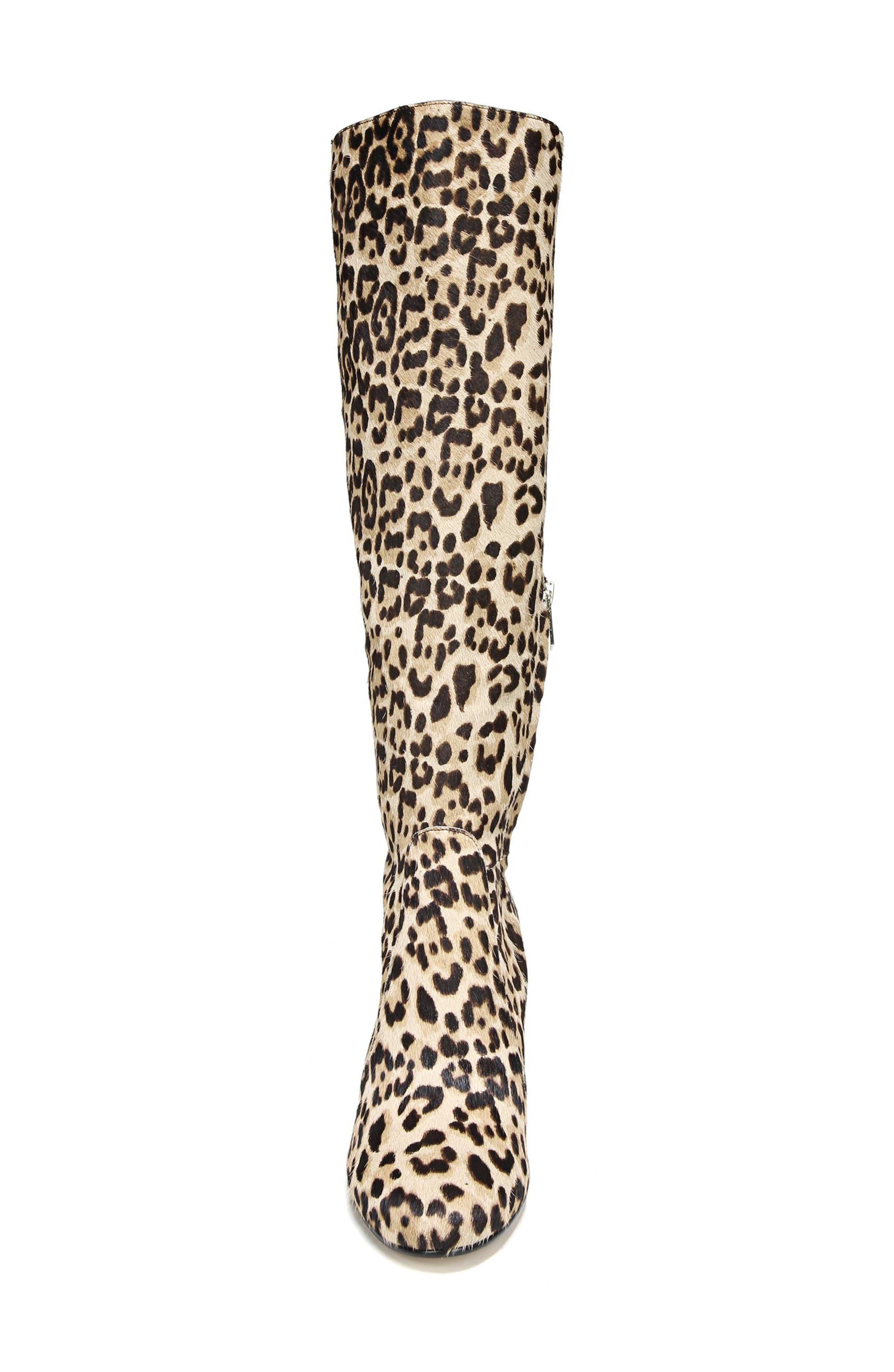 Alternate Image 4  - Sam Edelman Thora Genuine Calf Hair Knee High Boot (Women)