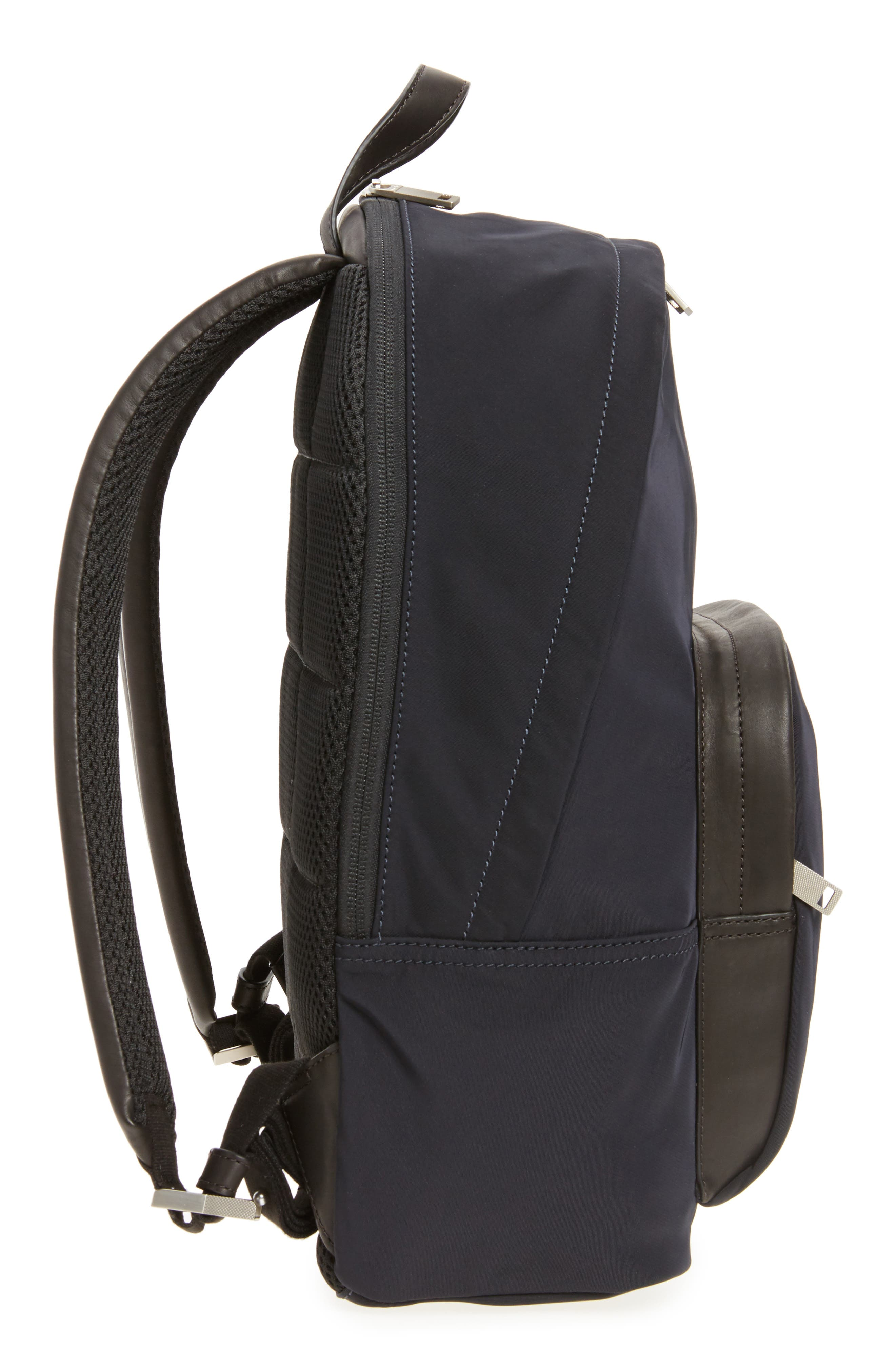 Twill Backpack,                             Alternate thumbnail 5, color,                             Navy