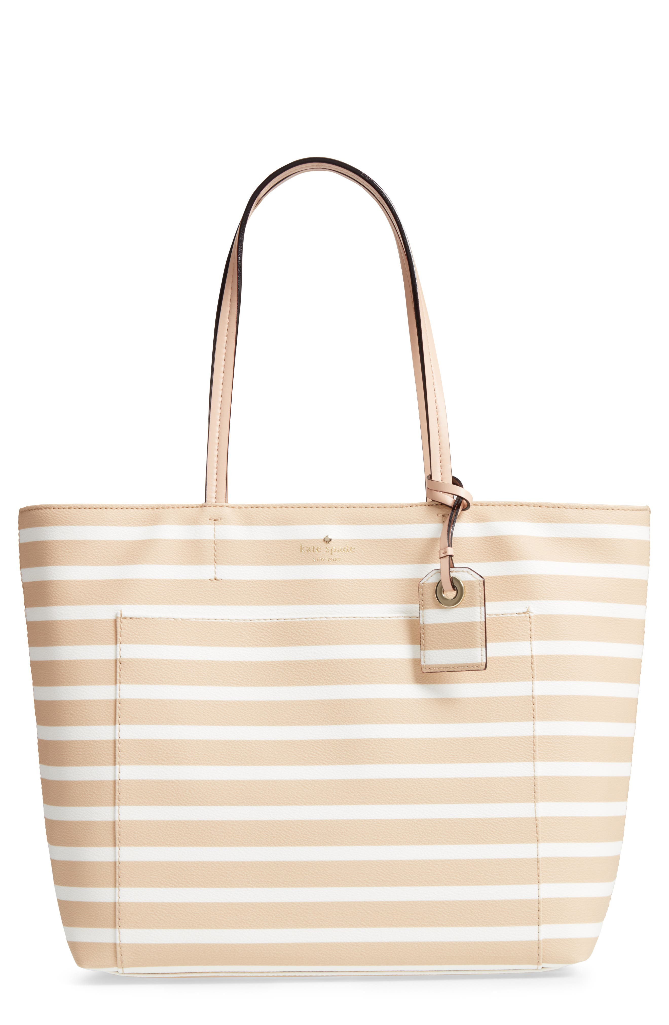 kate spade new york hyde lane stripe - riley tote