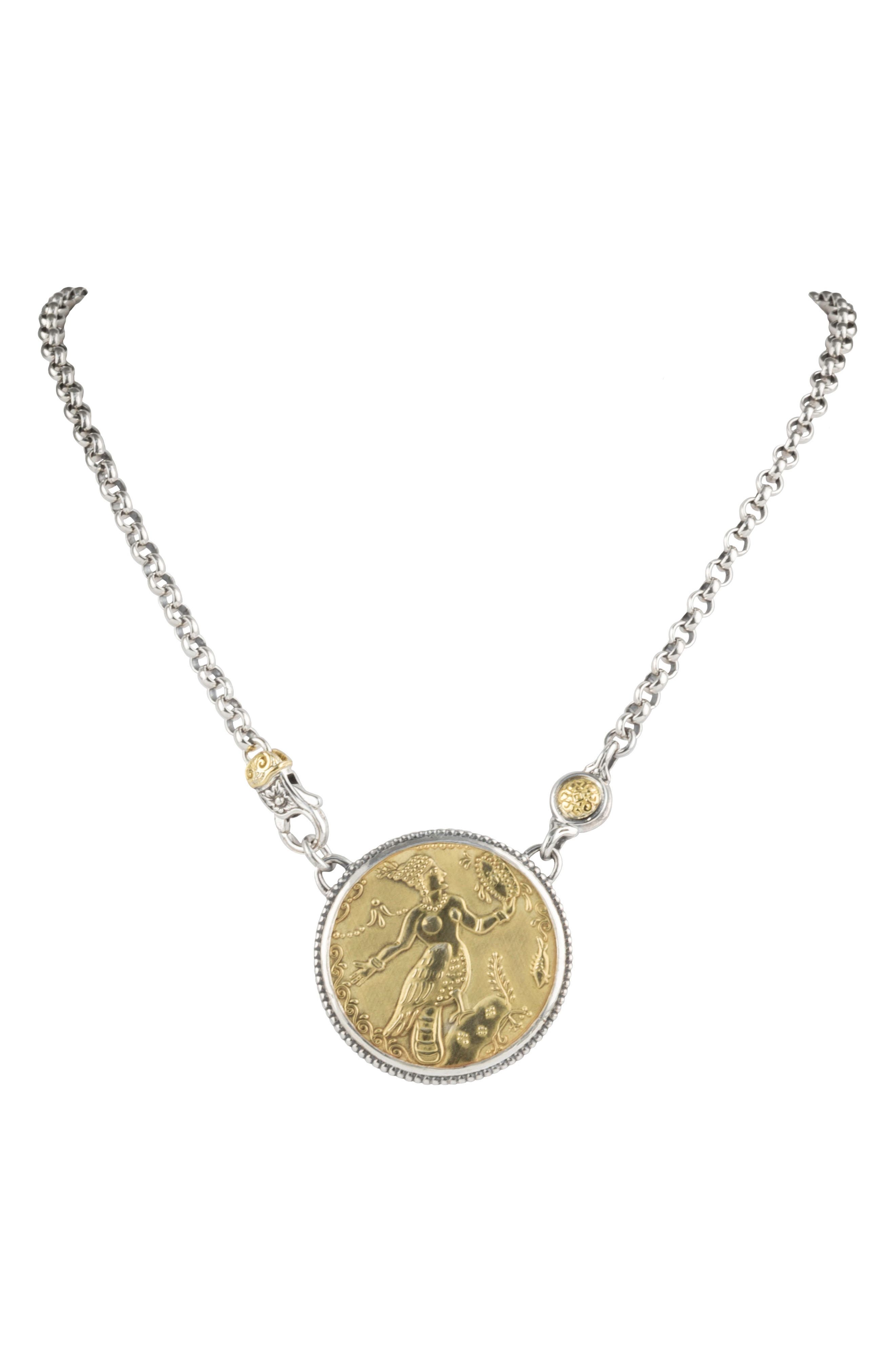 KONSTANTINO Gaia Sirene Necklace