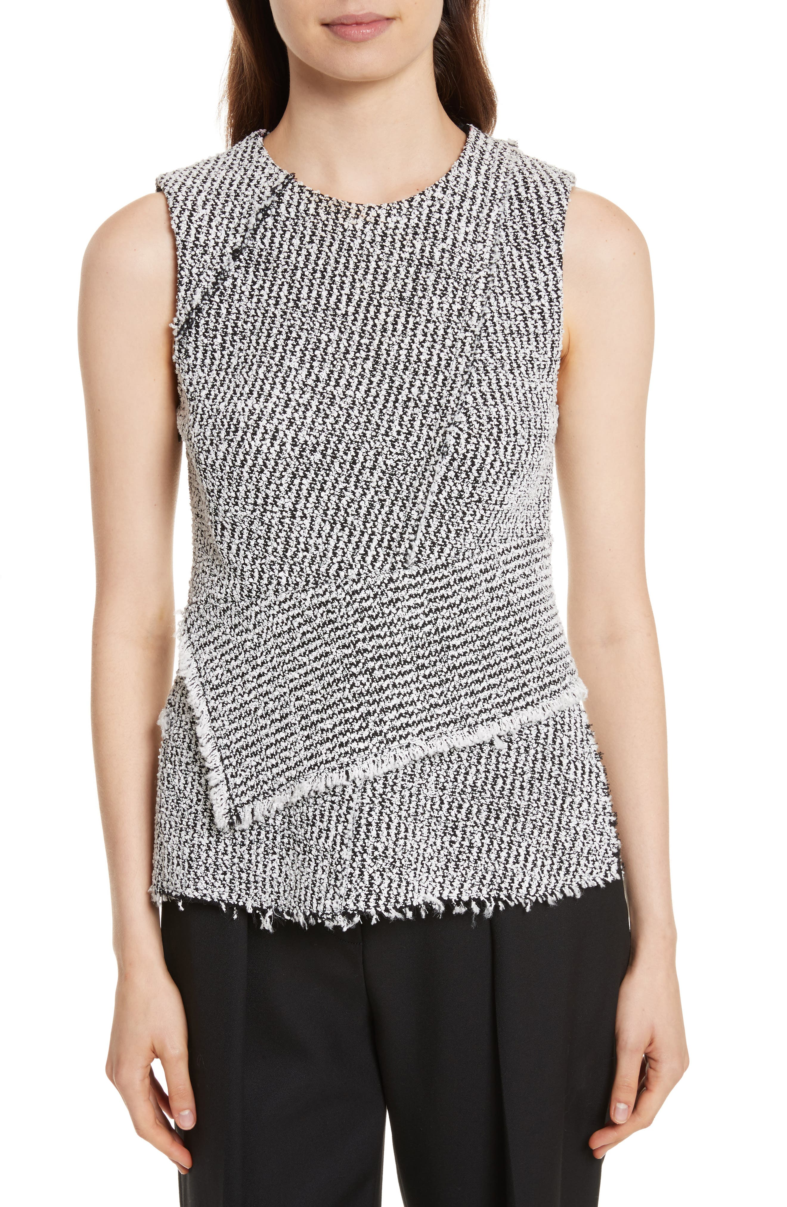 3.1 Phillip Lim Knit Wrap Top