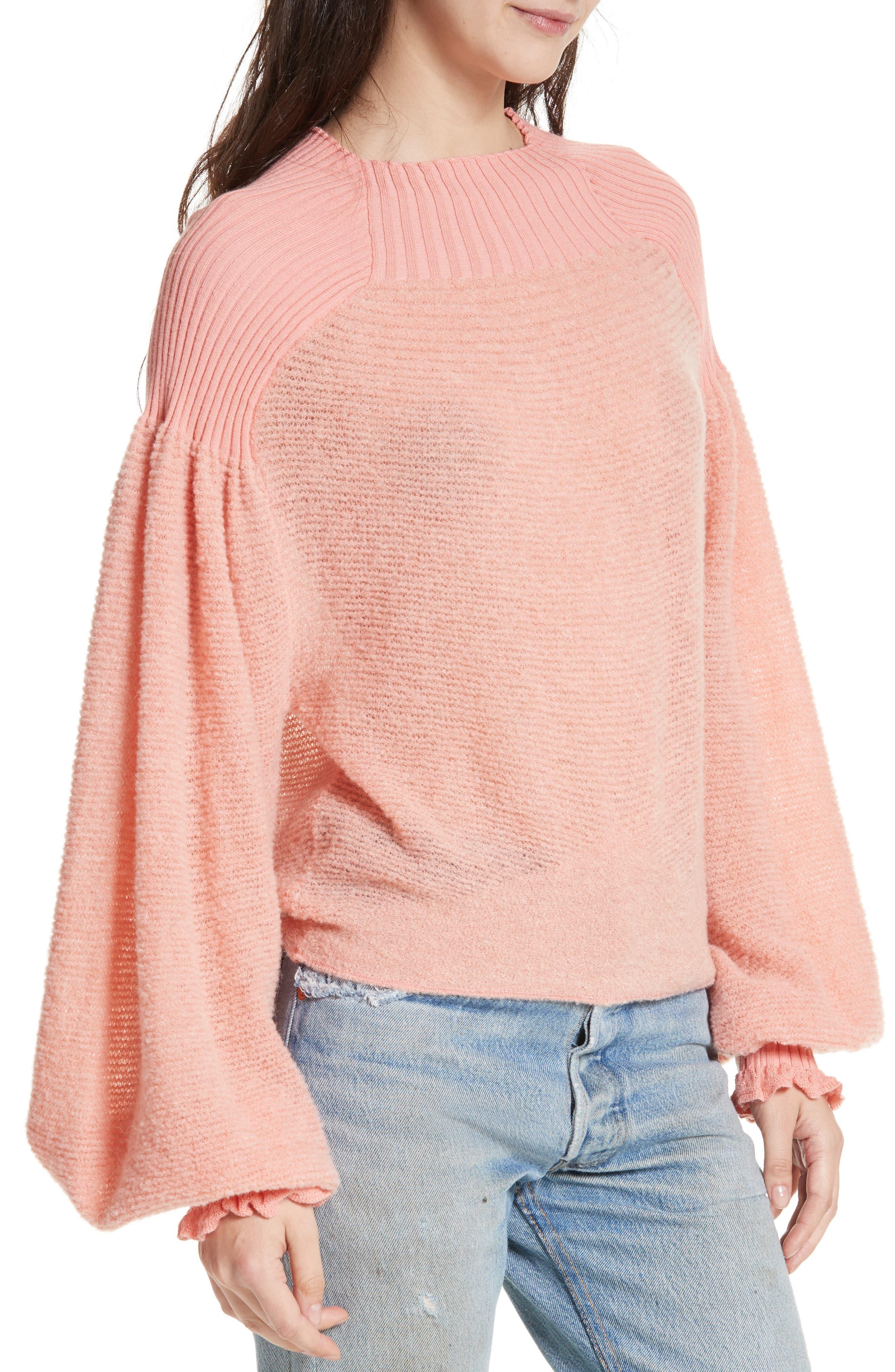 Alternate Image 4  - Free People Elderflower Sweater
