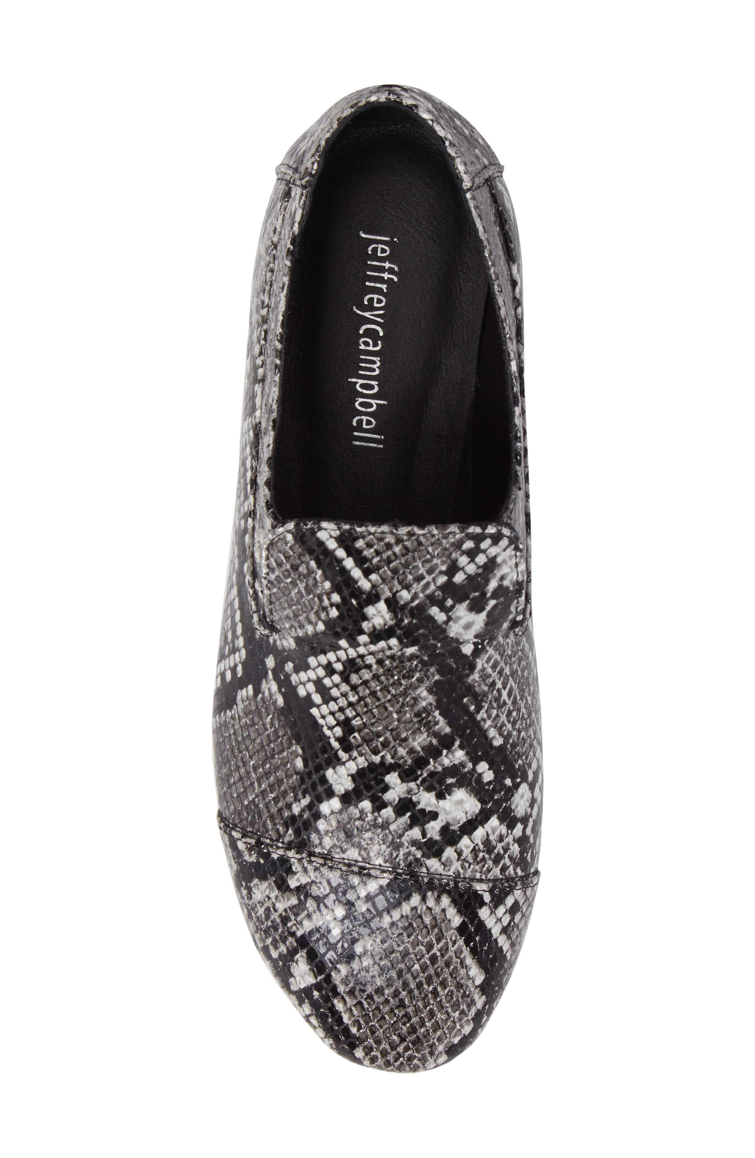 Alternate Image 5  - Jeffrey Campbell 'Bryant' Cap Toe Loafer (Women)