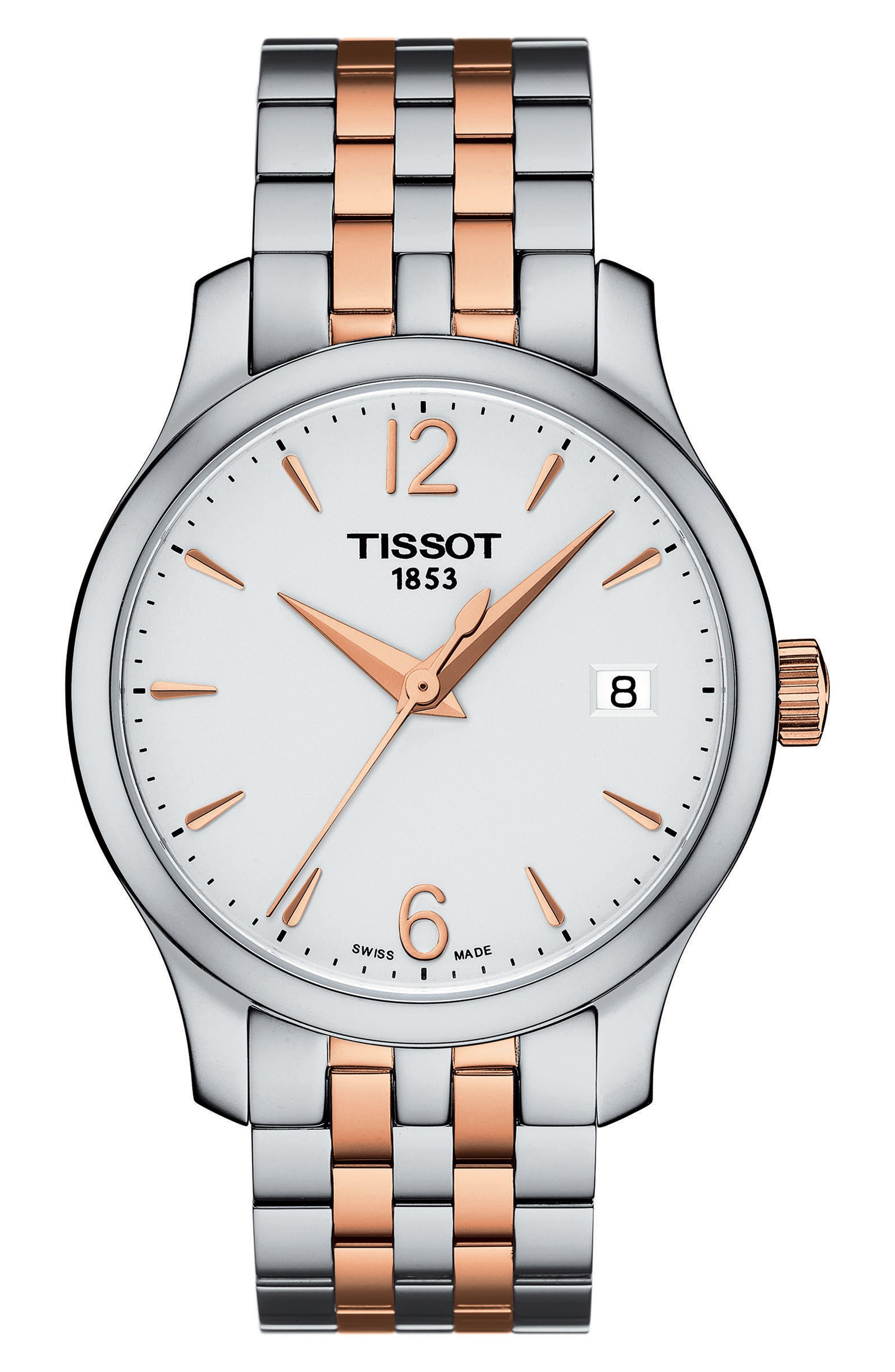 Alternate Image 1 Selected - Tissot Tradition Bracelet Watch, 33mm