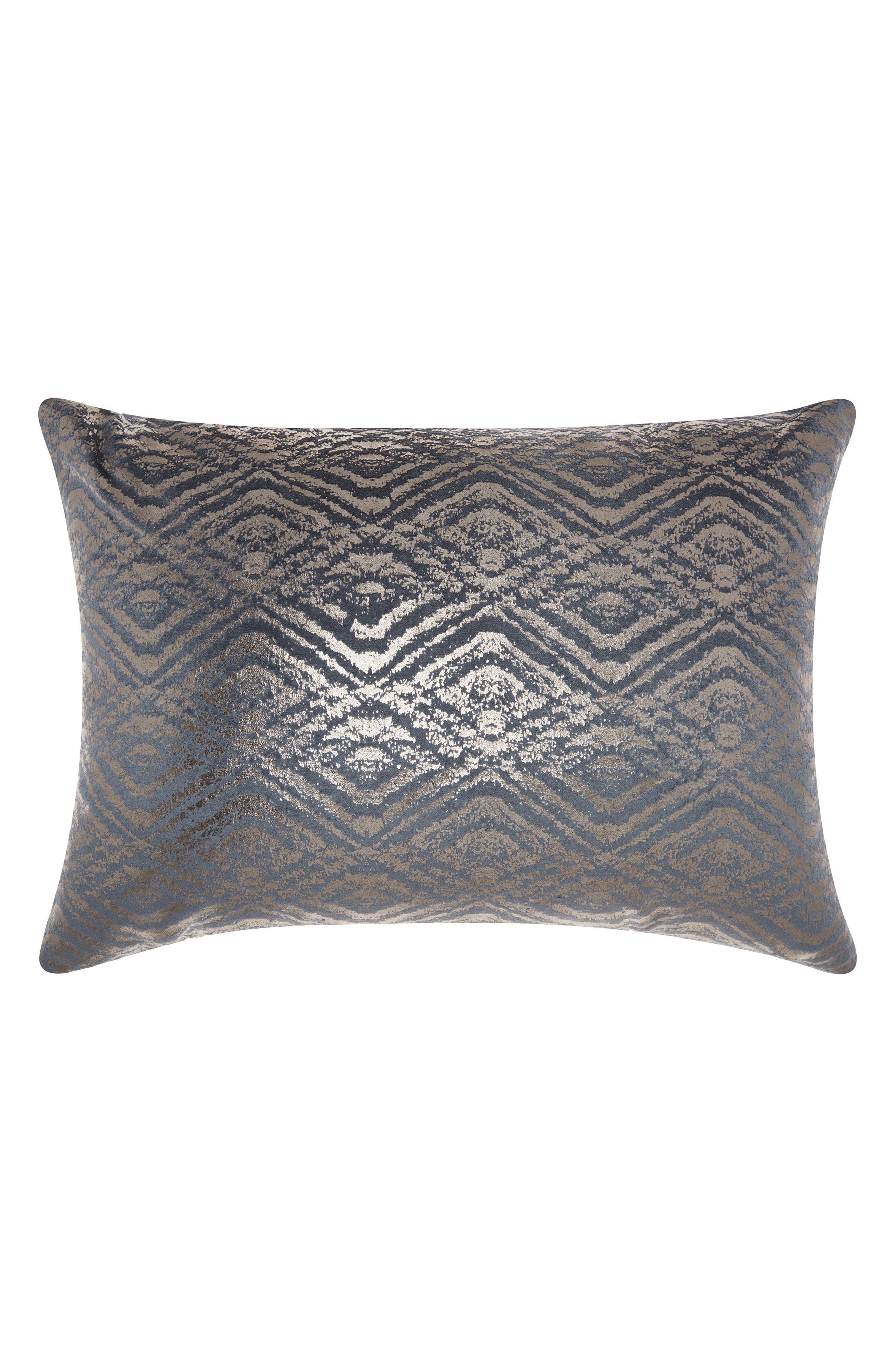 Main Image - Mina Victory Metallic Diamonds Accent Pillow