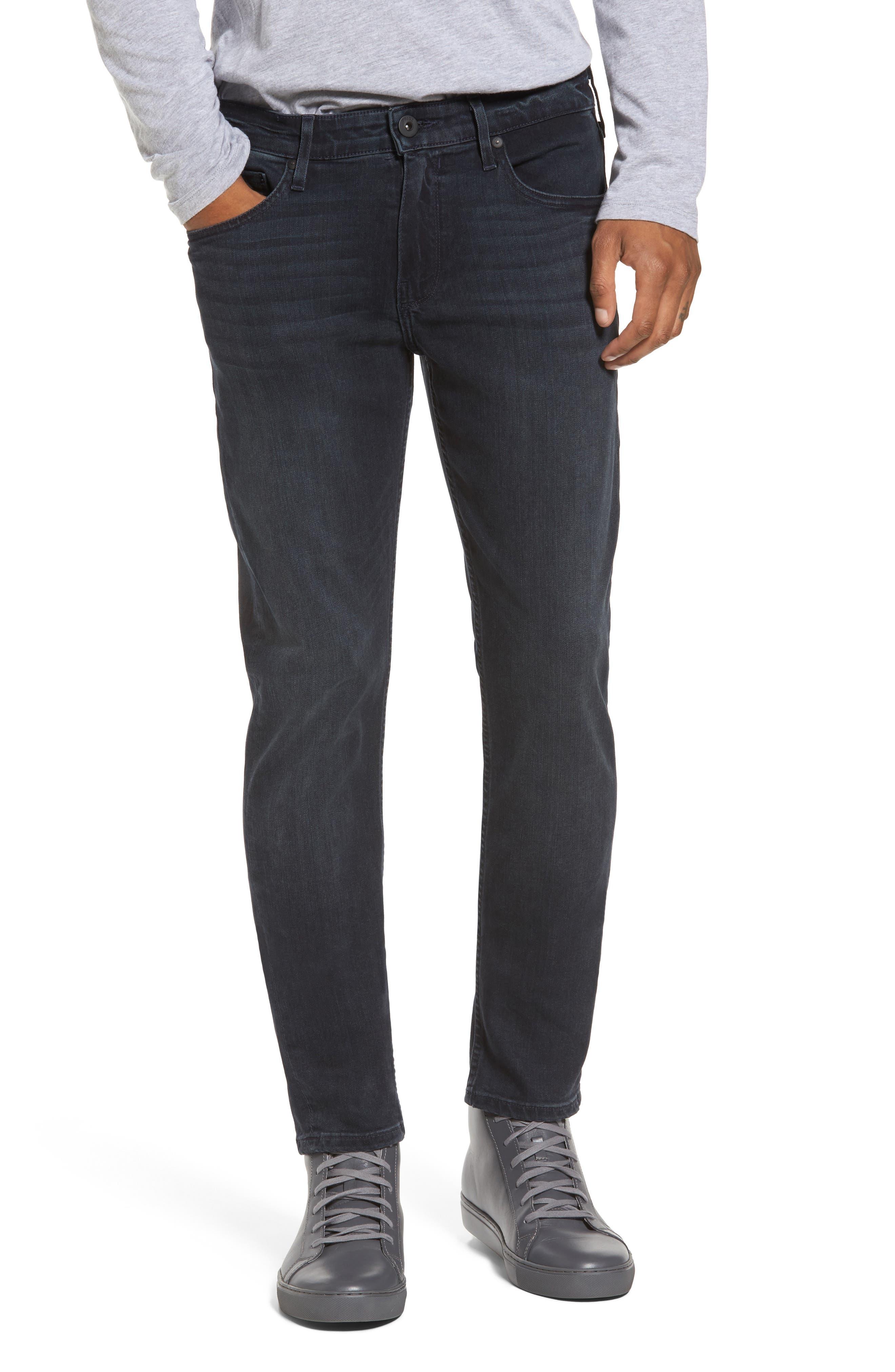 Transcend - Croft Skinny Fit Jeans,                             Main thumbnail 1, color,                             Beckett