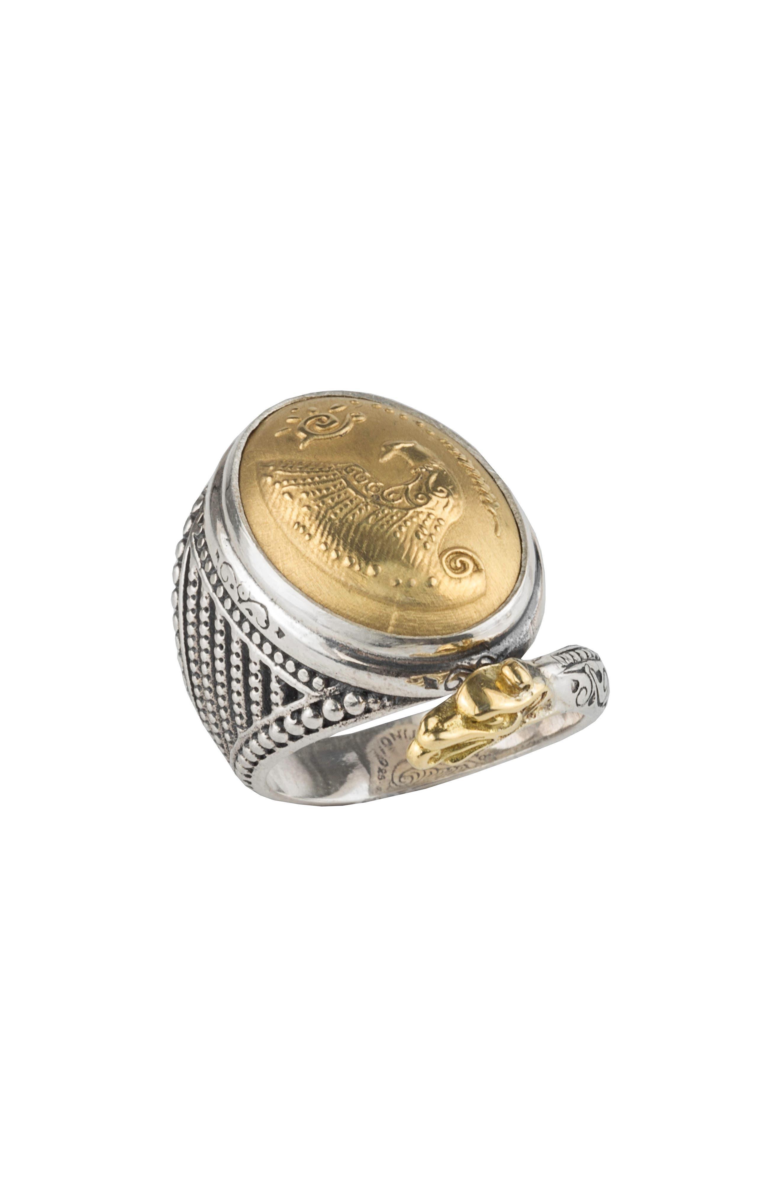 Konstantino Gaia Dome Ring