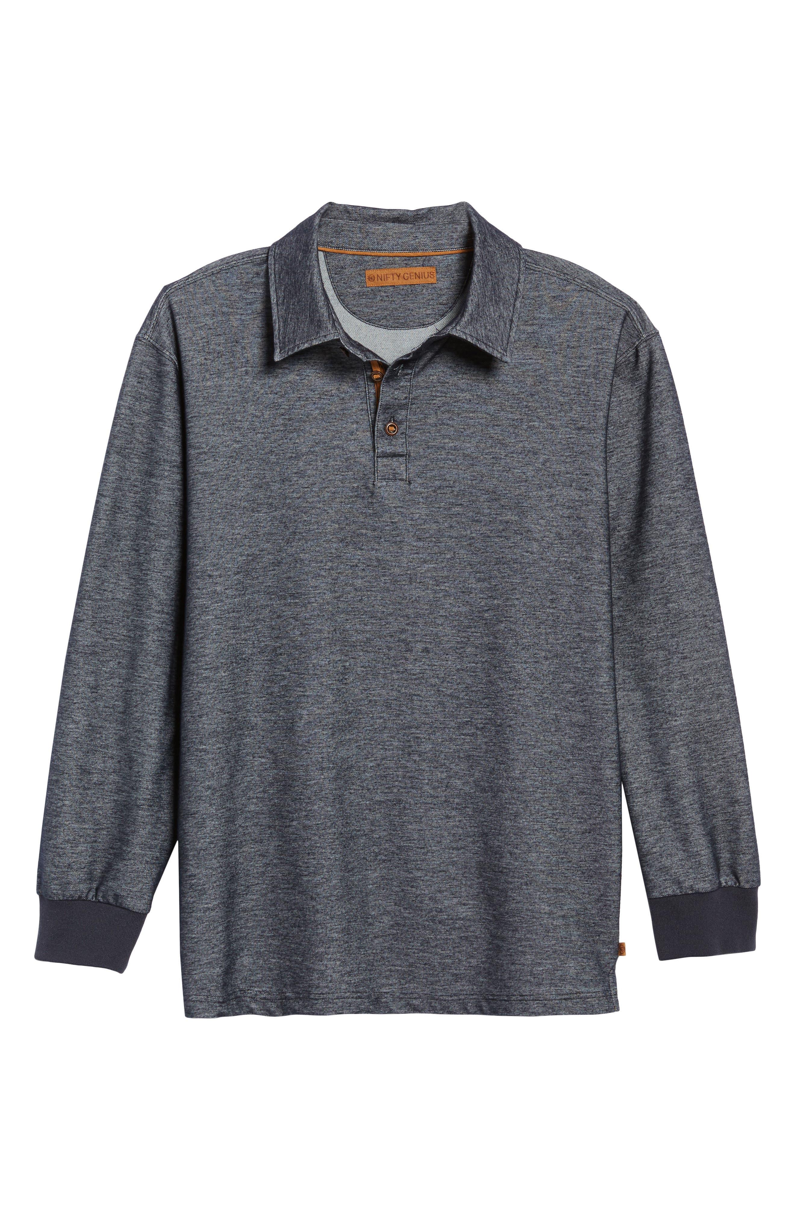 Alternate Image 6  - Nifty Genius Nicolas Long Sleeve Polo
