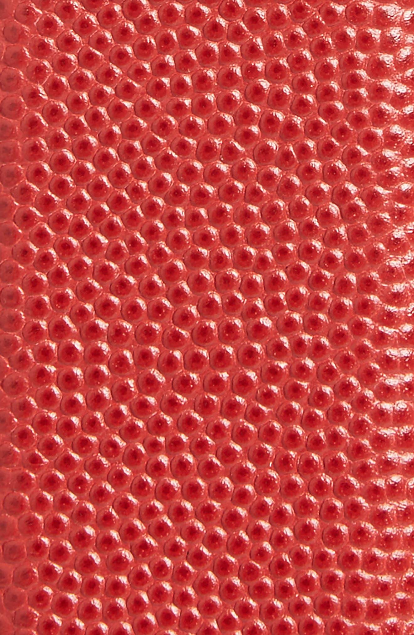 Belt,                             Alternate thumbnail 2, color,                             Rosso