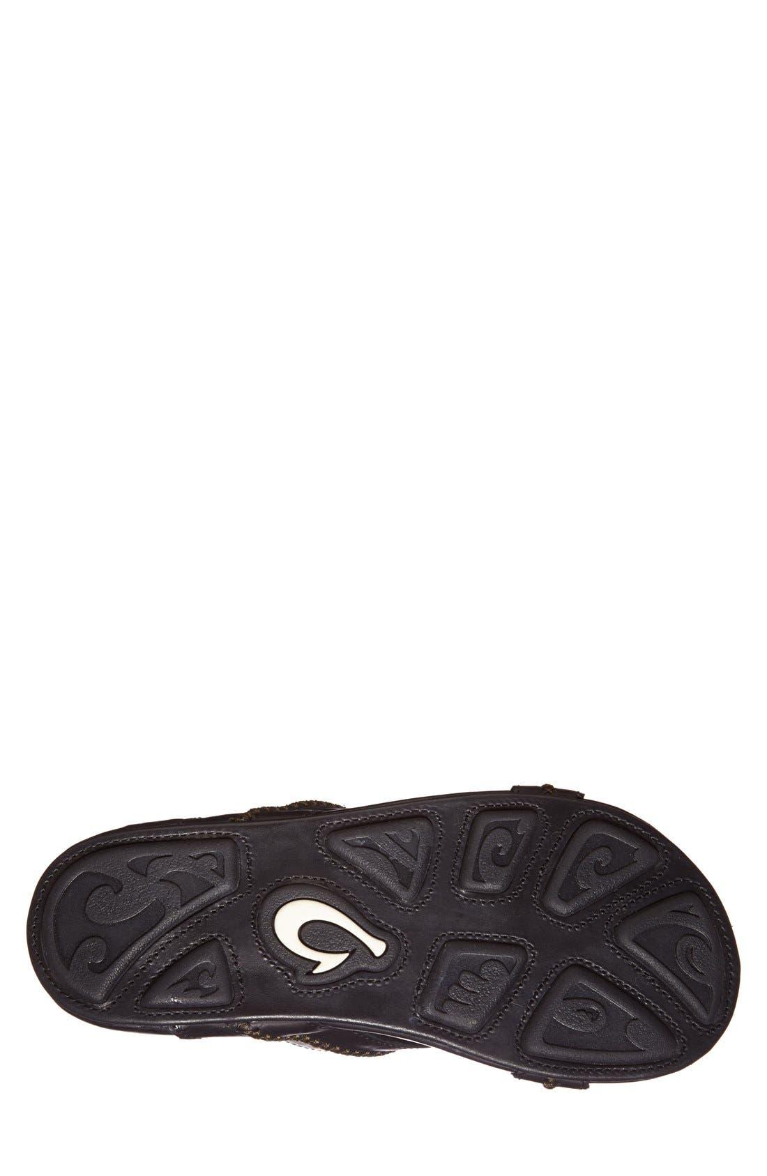 Alternate Image 4  - OluKai 'Mea Ola' Slide Sandal (Men)