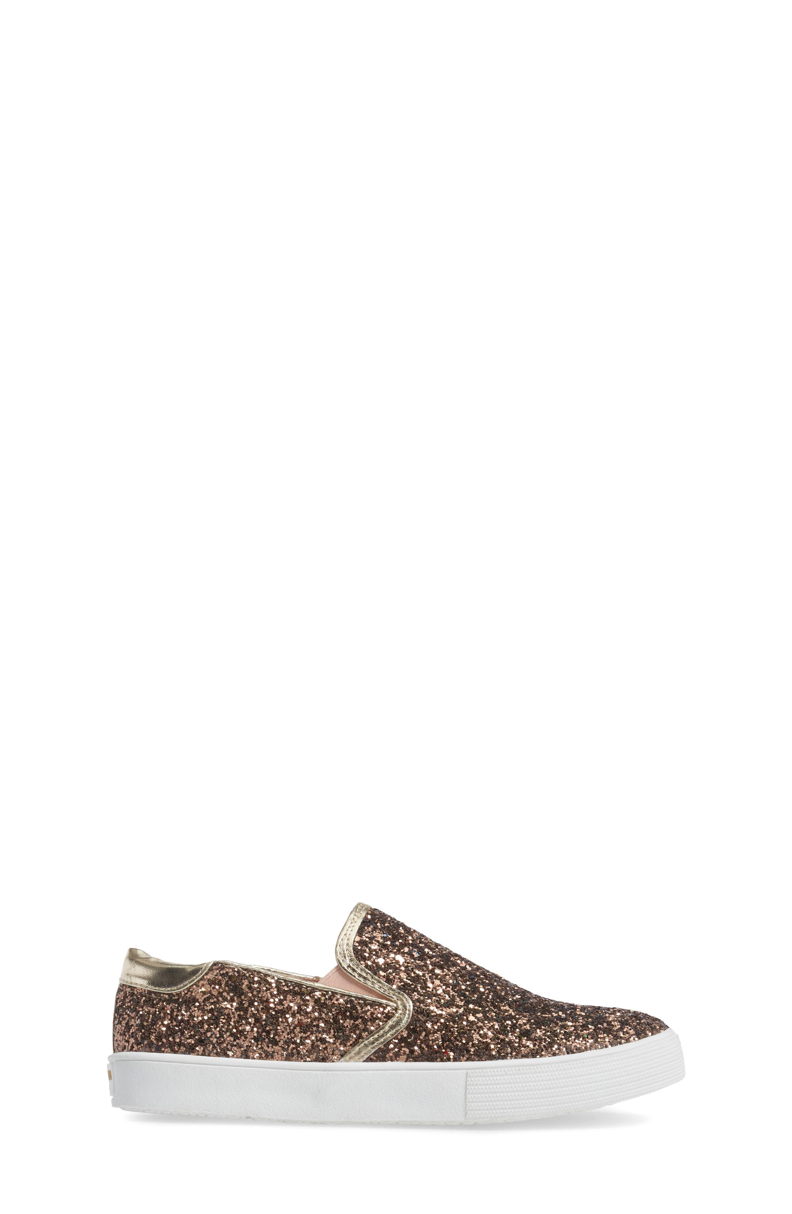 Alternate Image 3  - Kenneth Cole New York Cami Slip-On Glitter Sneaker (Toddler, Little Kid & Big Kid)