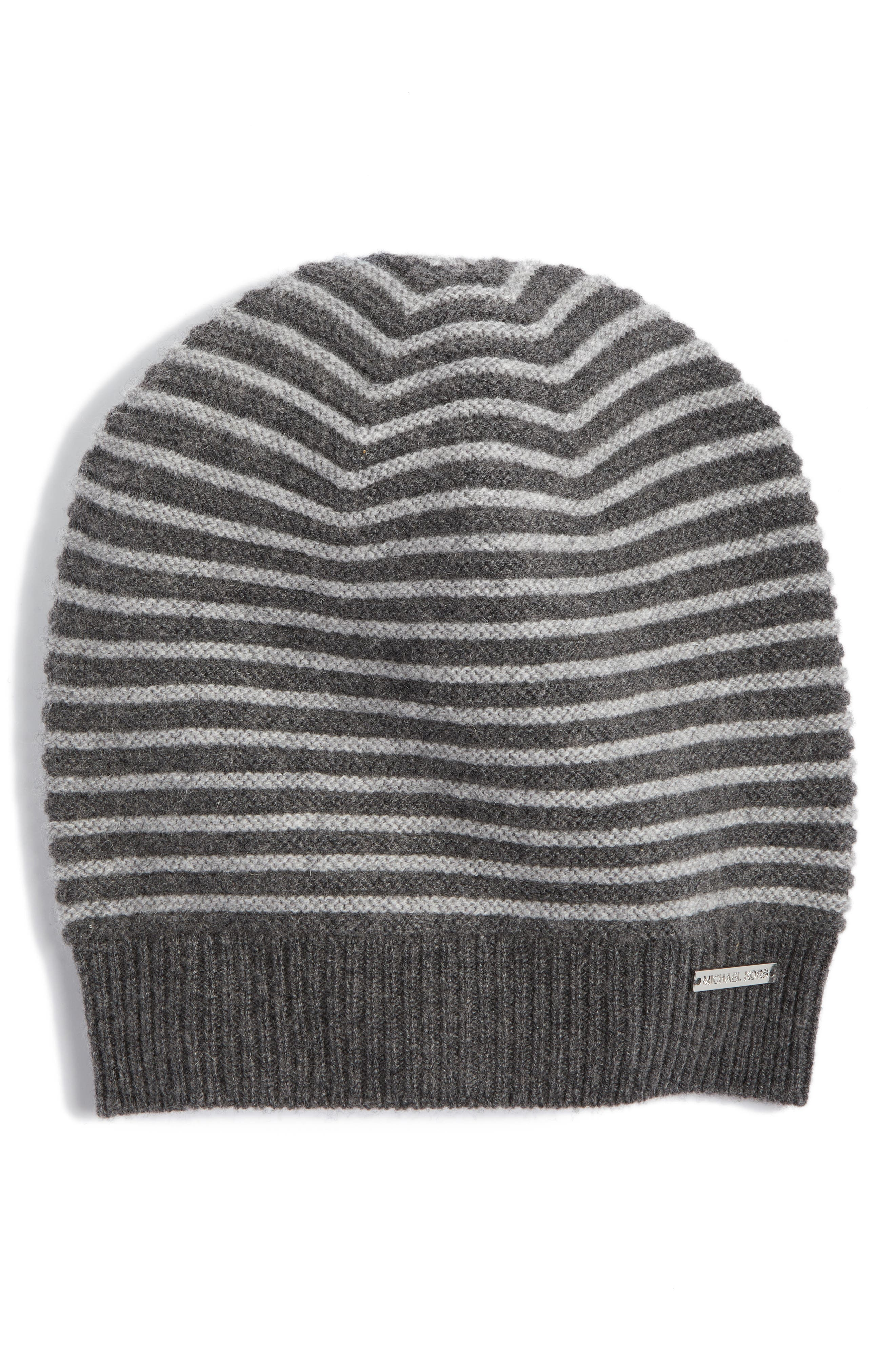 Double Links Wool & Cashmere Hat,                         Main,                         color, Derby/ Pearl Heather Grey
