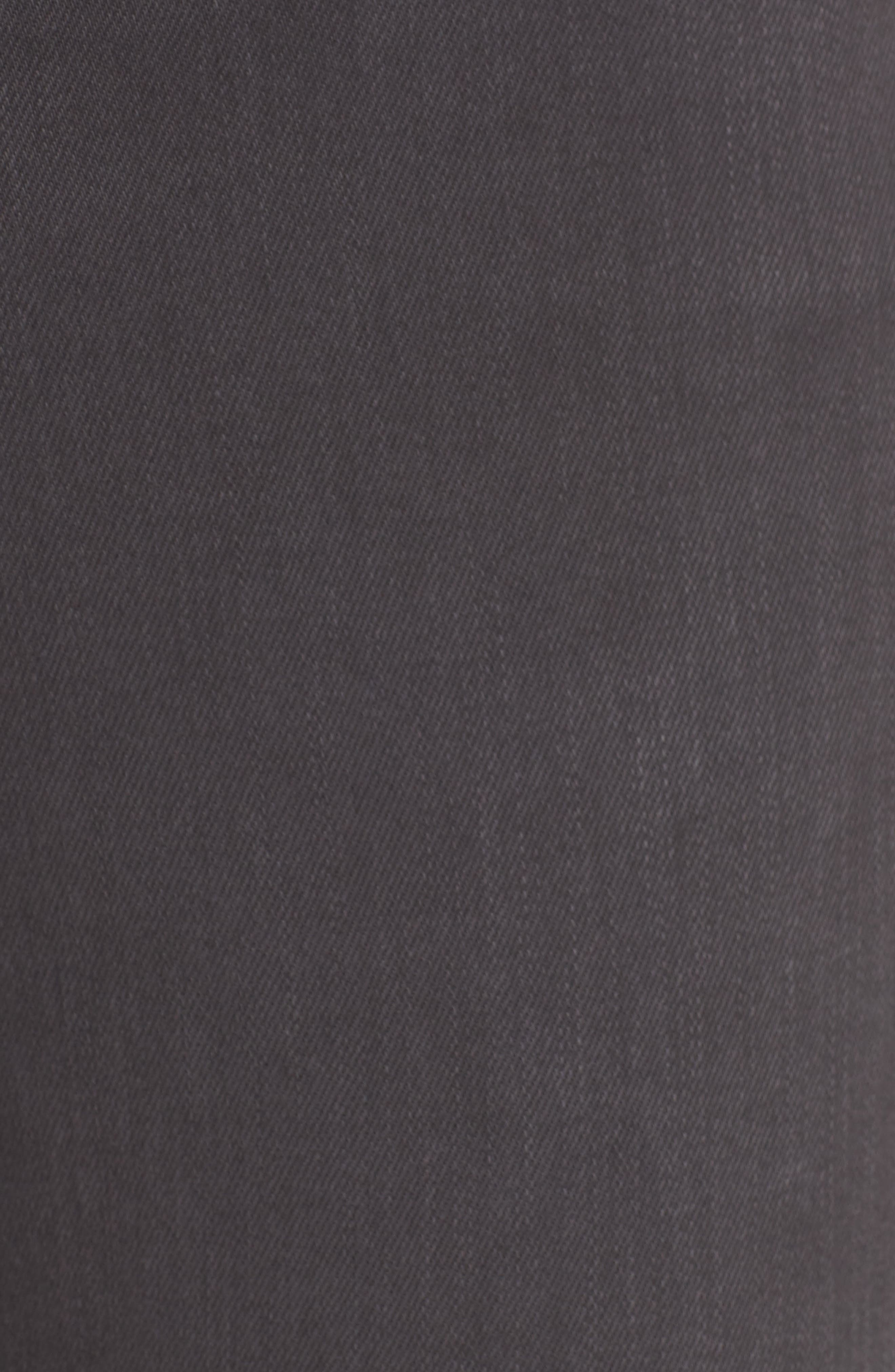 Mila High Rise Skinny Jeans,                             Alternate thumbnail 5, color,                             Interstellar Black