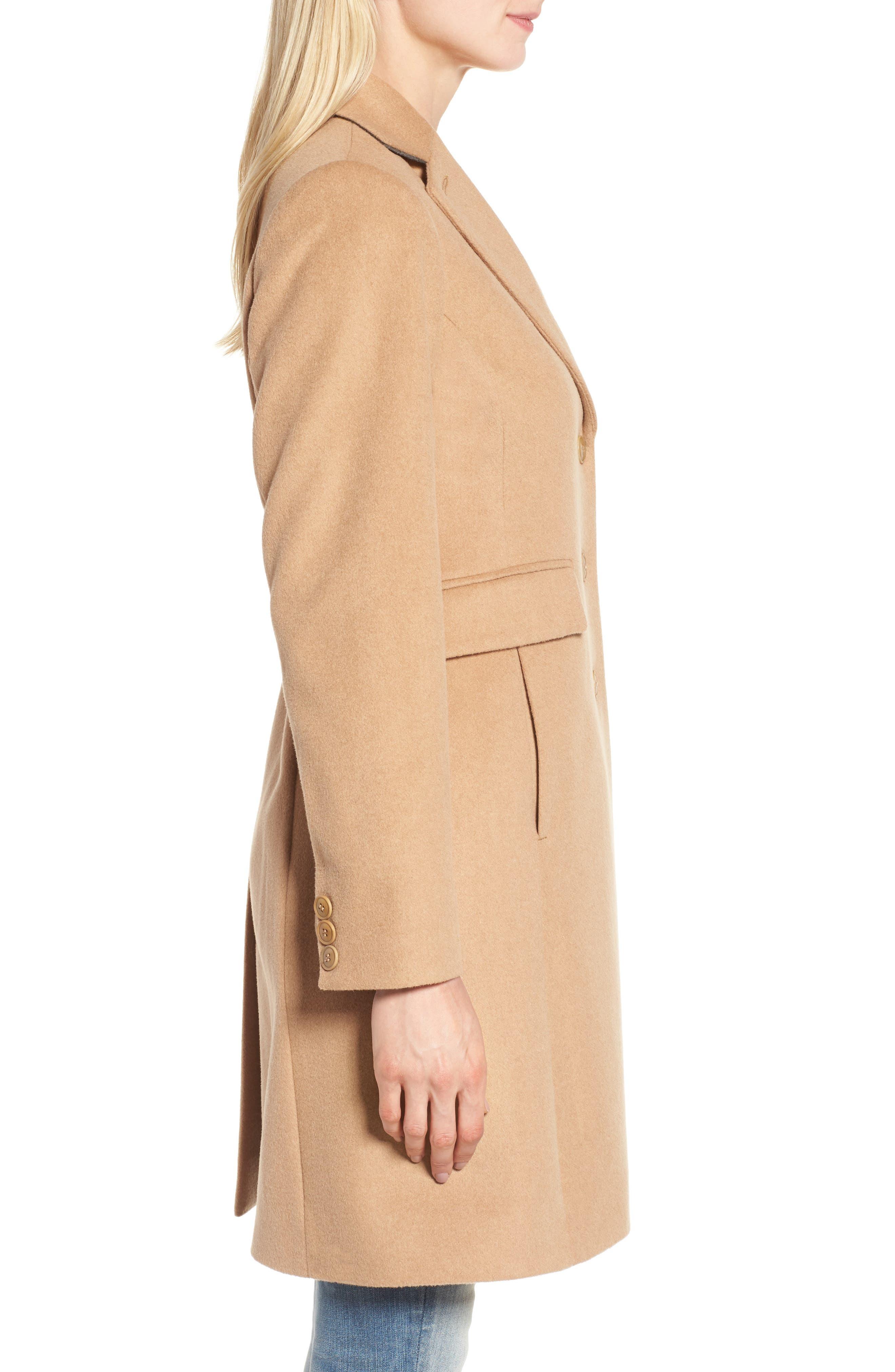 Alternate Image 4  - Kristen Blake Walking Coat (Regular & Petite)