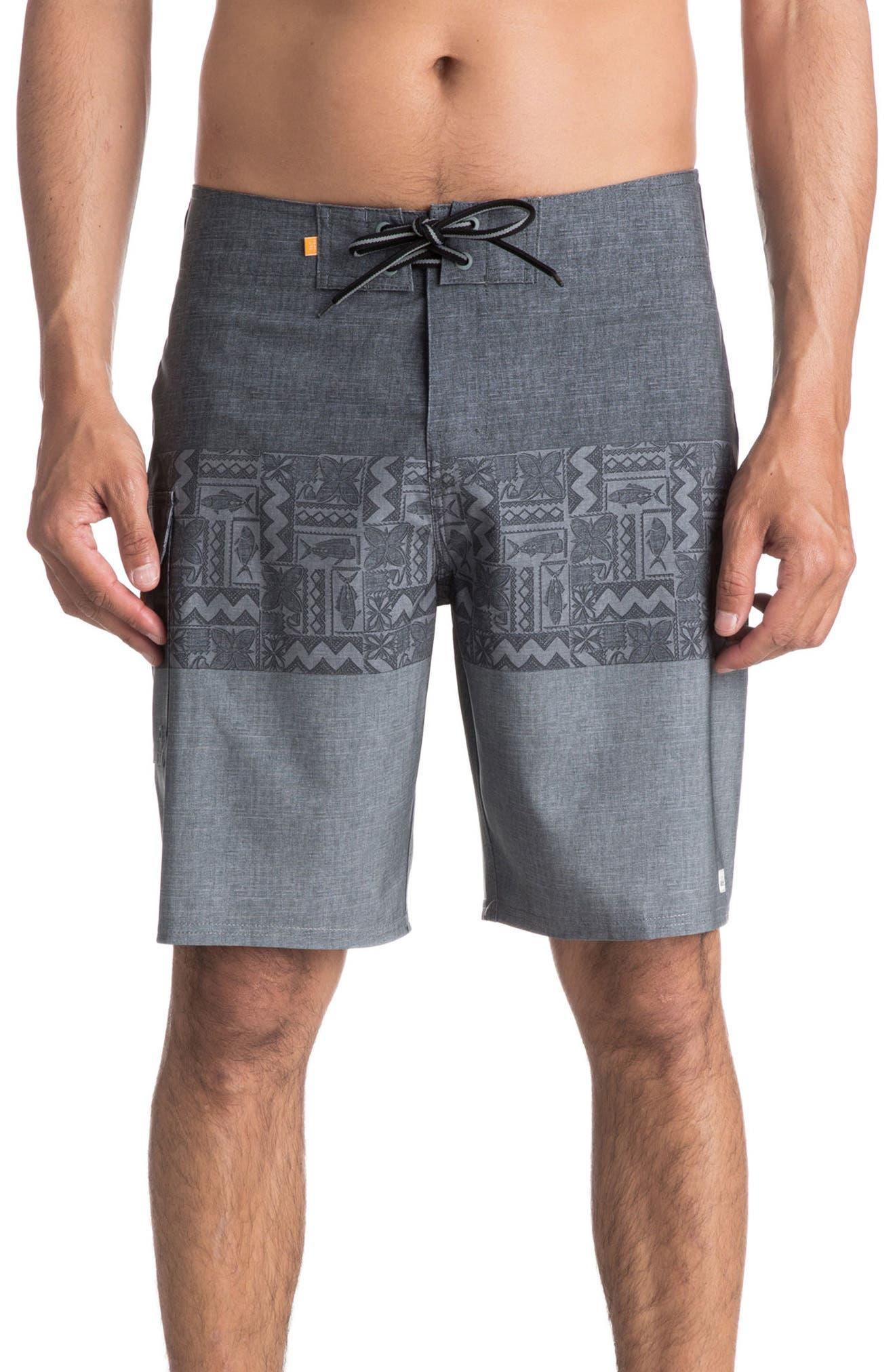 Quiksilver Fairway Triblock Board Shorts