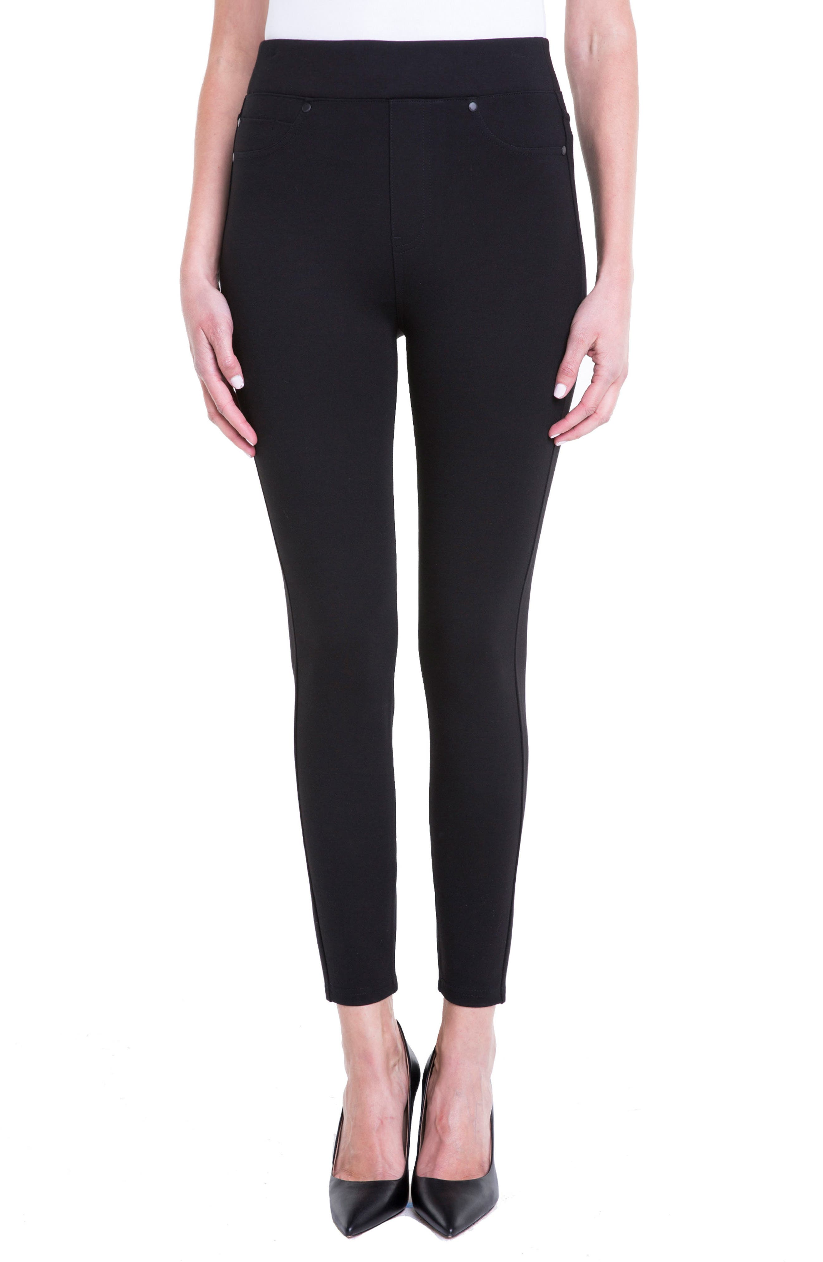 Alternate Image 1 Selected - Liverpool Jeans Company Bridget High Waist Pull-On Ankle Leggings