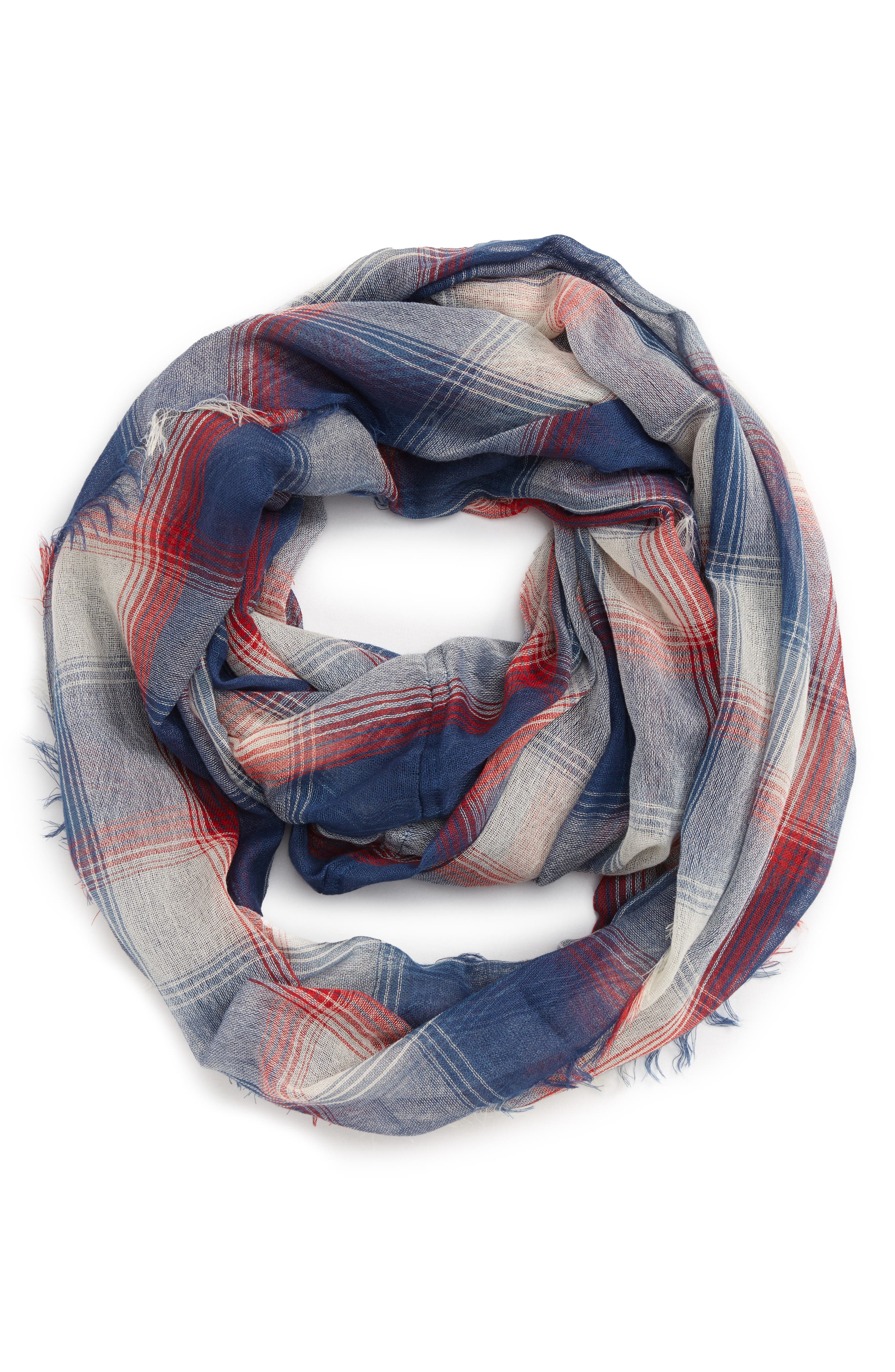 Alternate Image 1 Selected - BP. Plaid Infinity Scarf