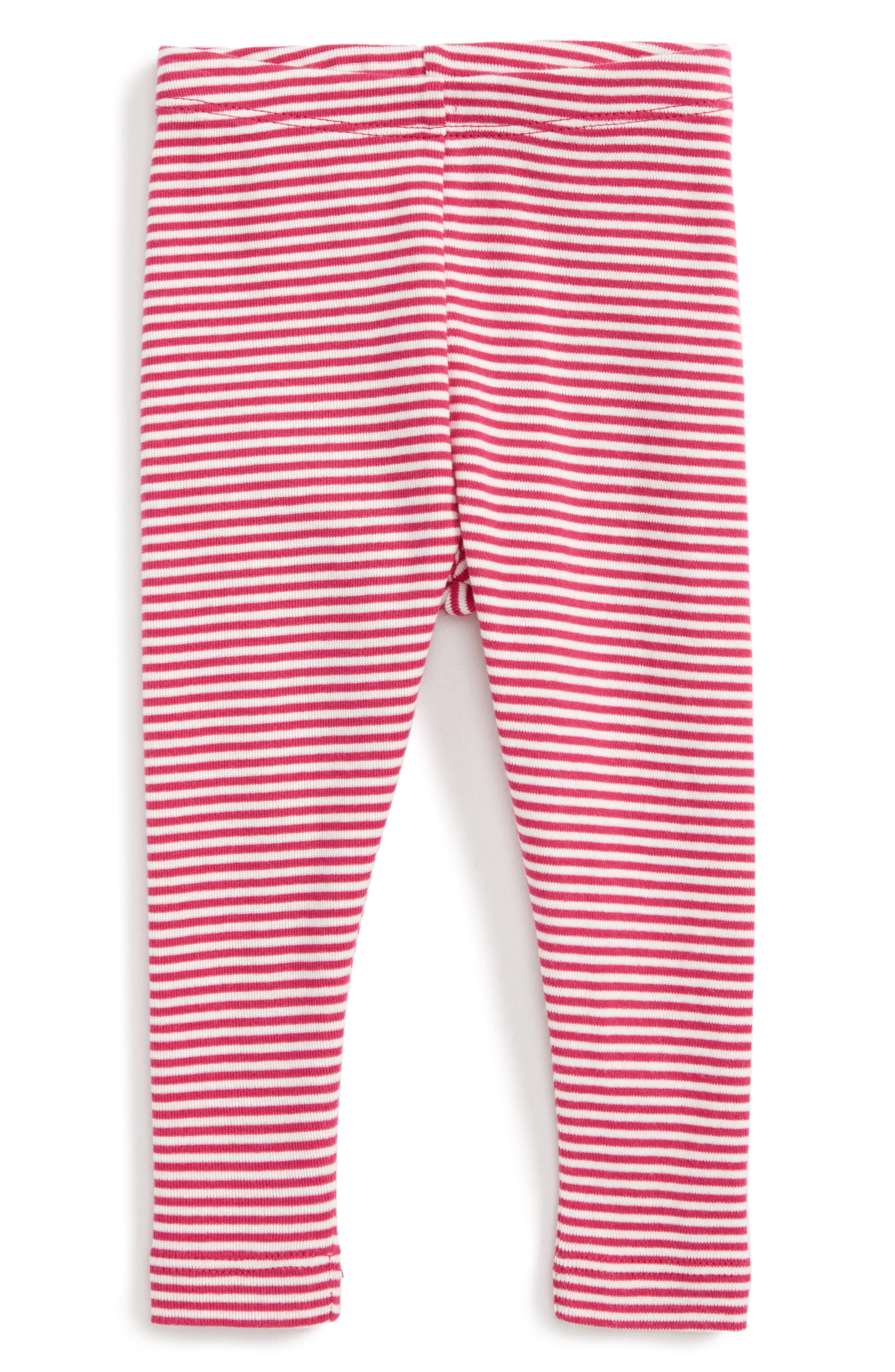 Tea Collection Stripe Leggings (Baby Girls)