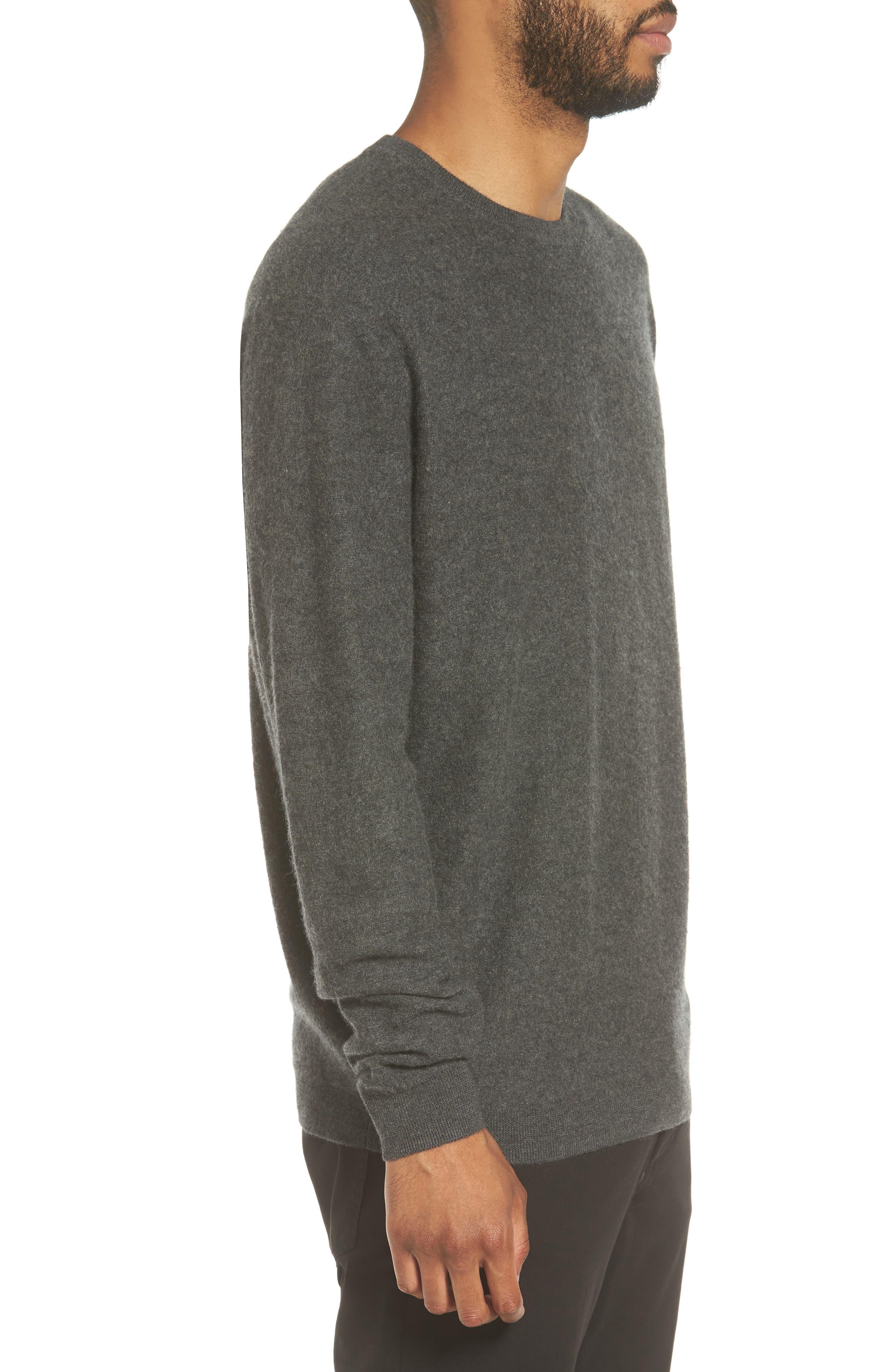 Alternate Image 4  - Vince Cashmere Crewneck Sweater