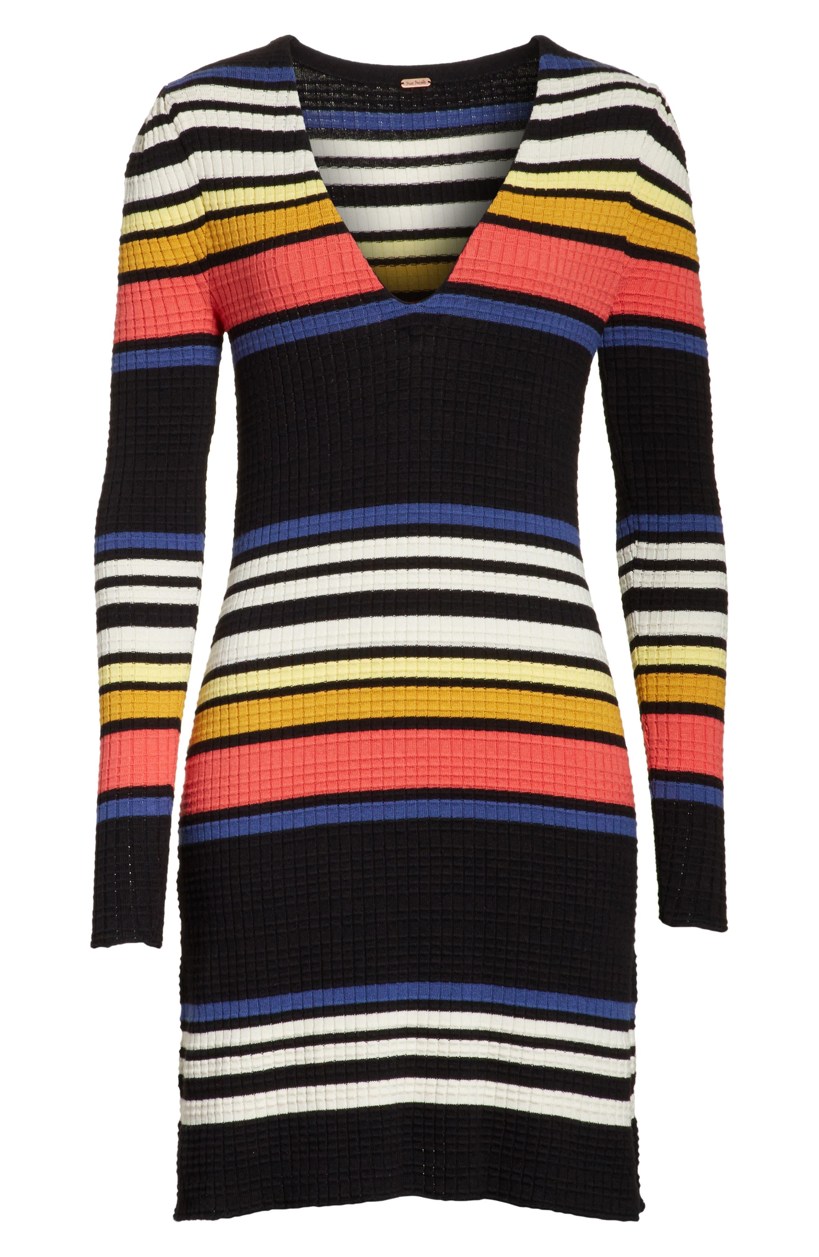 Alternate Image 6  - Free People Gidget Sweater Dress