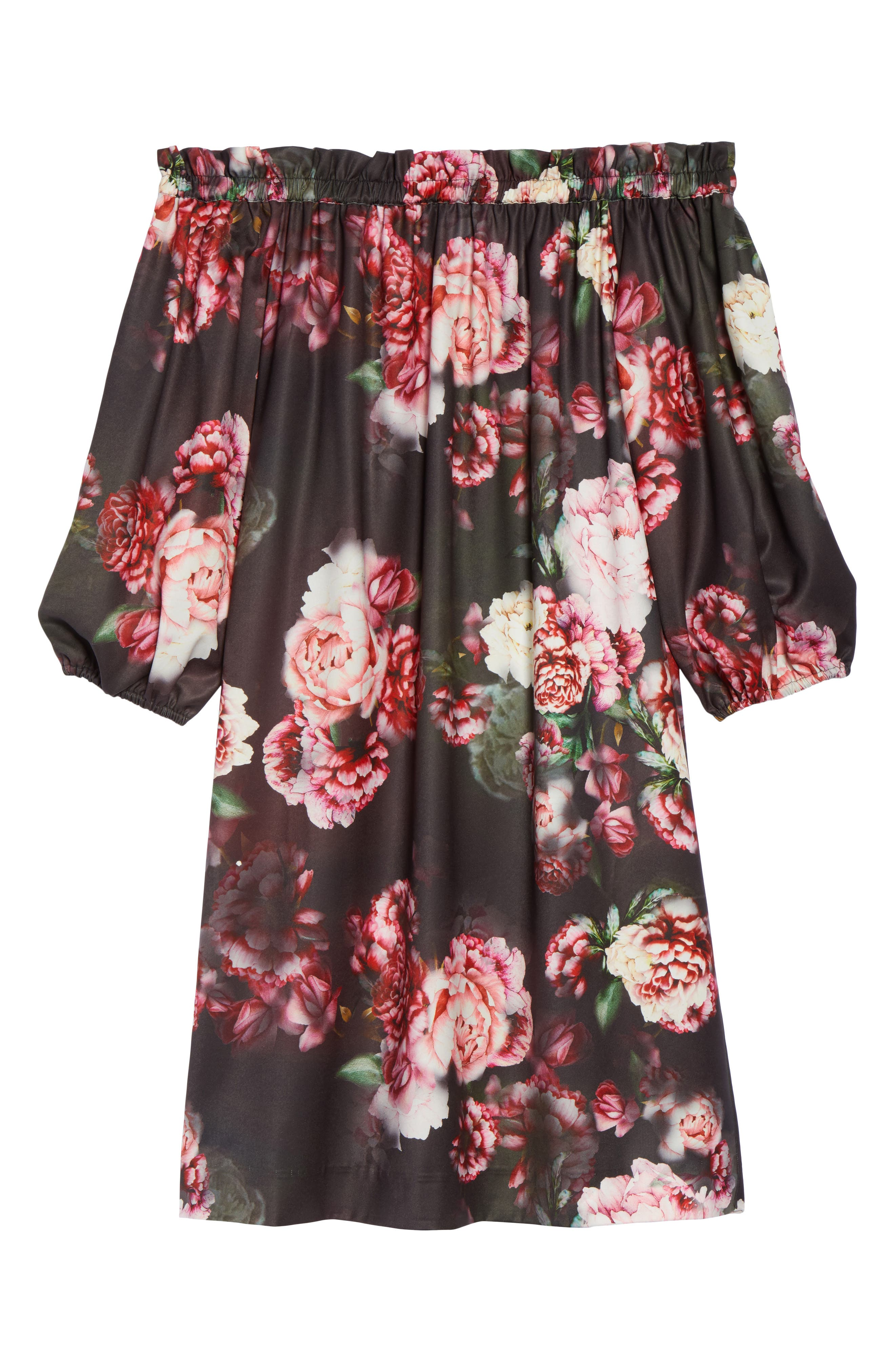 Alternate Image 6  - Felicity & Coco Print Off the Shoulder Shift Dress (Regular & Petite) (Nordstrom Exclusive)
