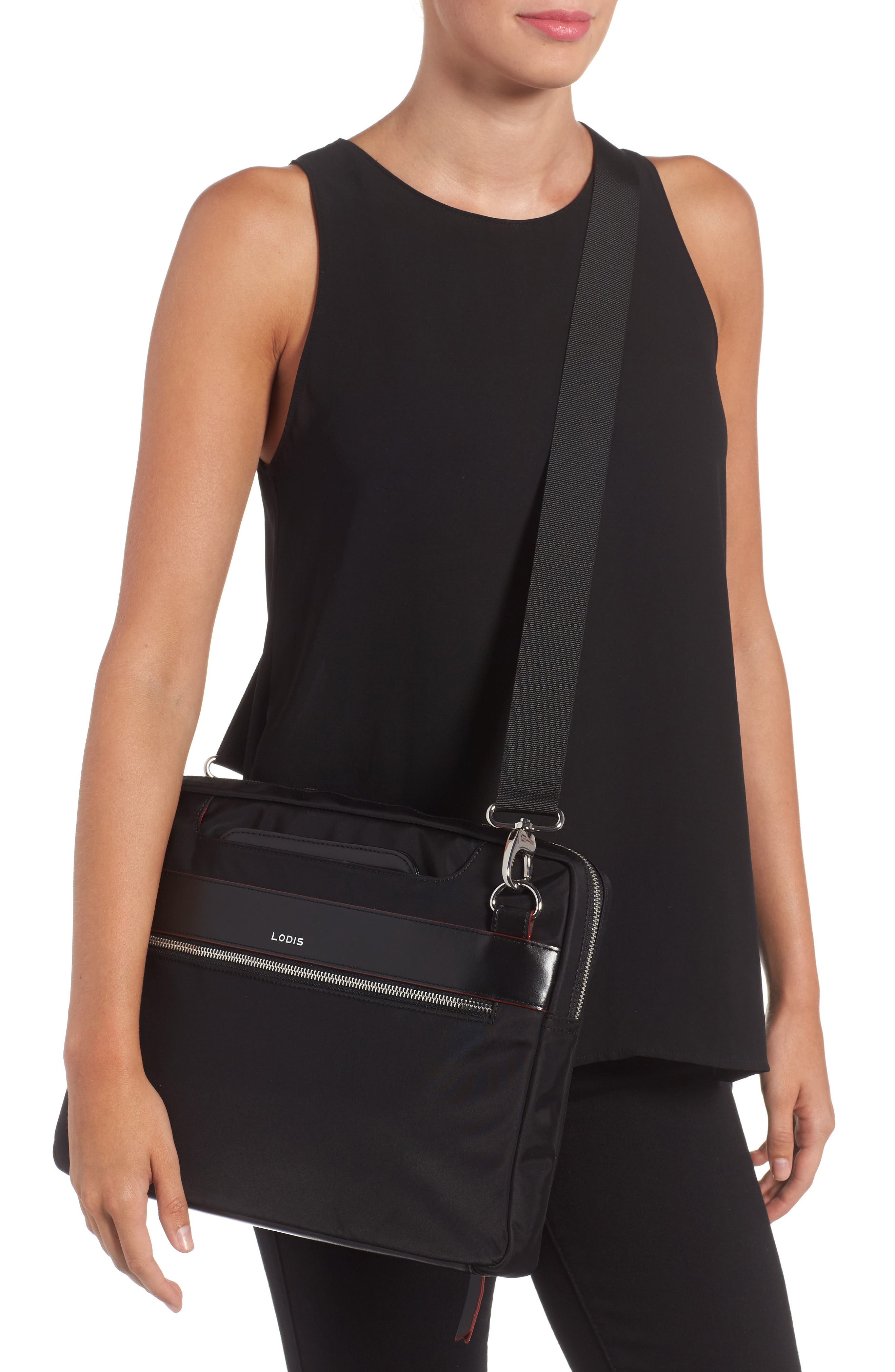 Alternate Image 2  - Lodis Kate Under Lock & Key Cora Laptop Crossbody Bag