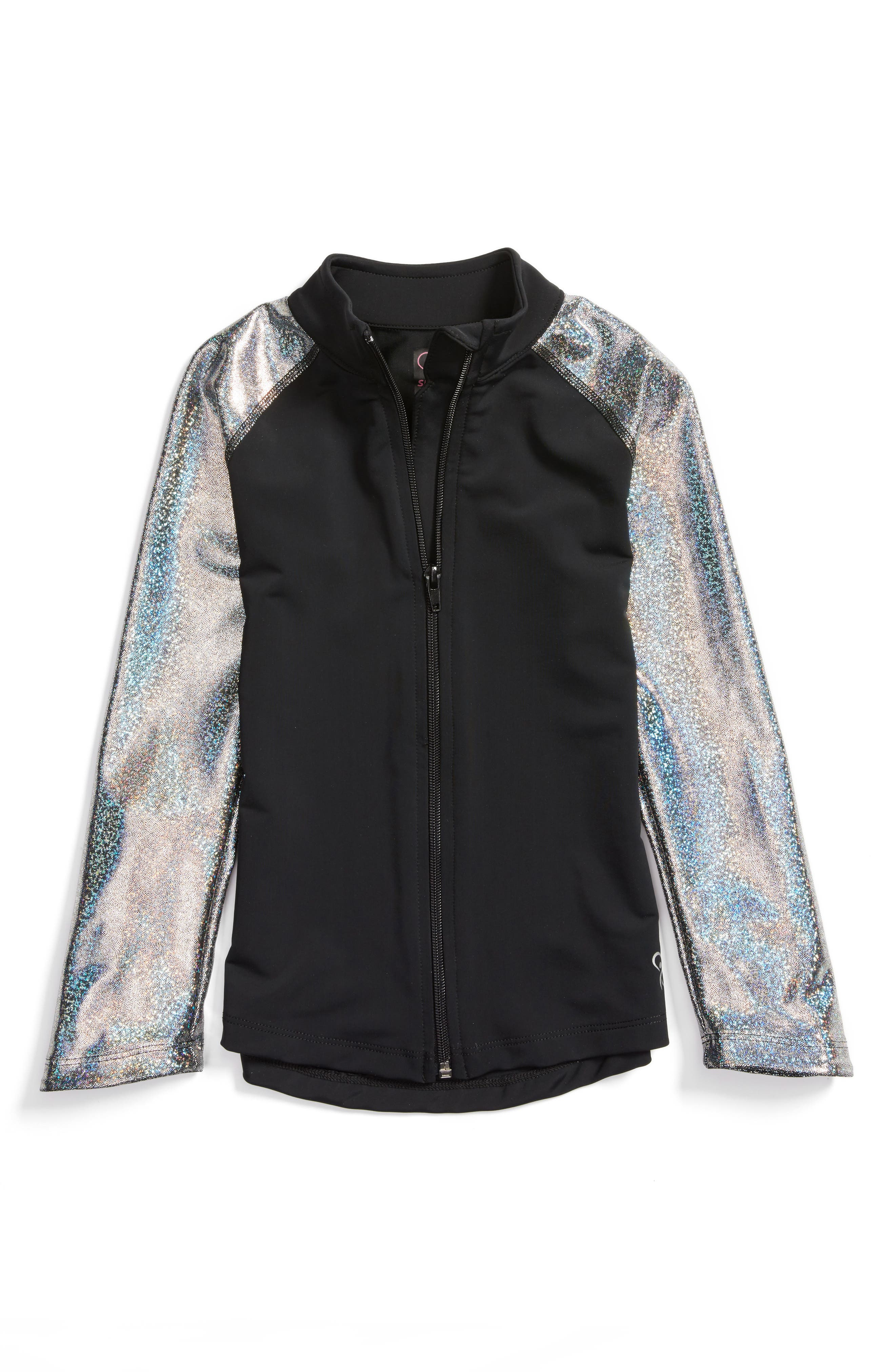 GP Sport Metallic Favorite Jacket (Little Girls & Big Girls)