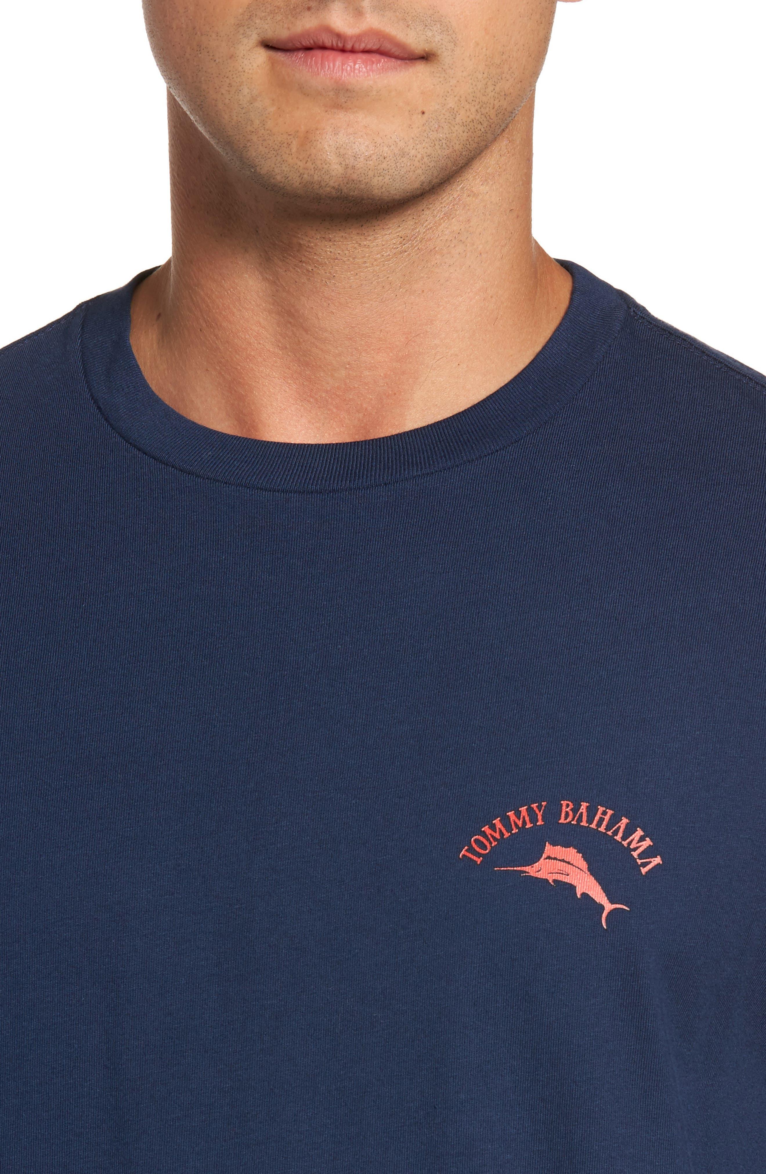 Alternate Image 4  - Tommy Bahama Big Boats Standard Fit T-Shirt