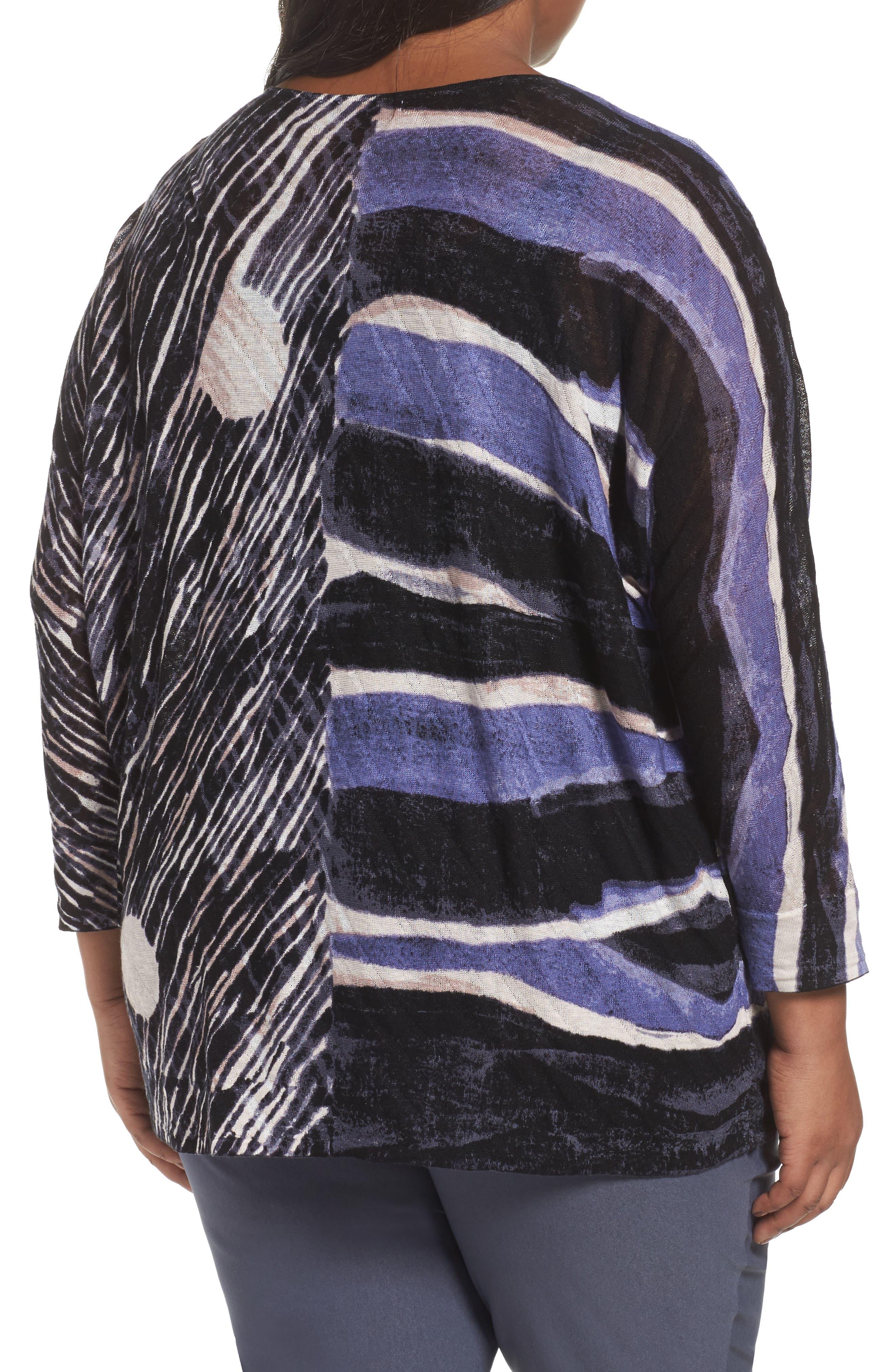 Sierra Sweater,                             Alternate thumbnail 2, color,                             Blue Multi