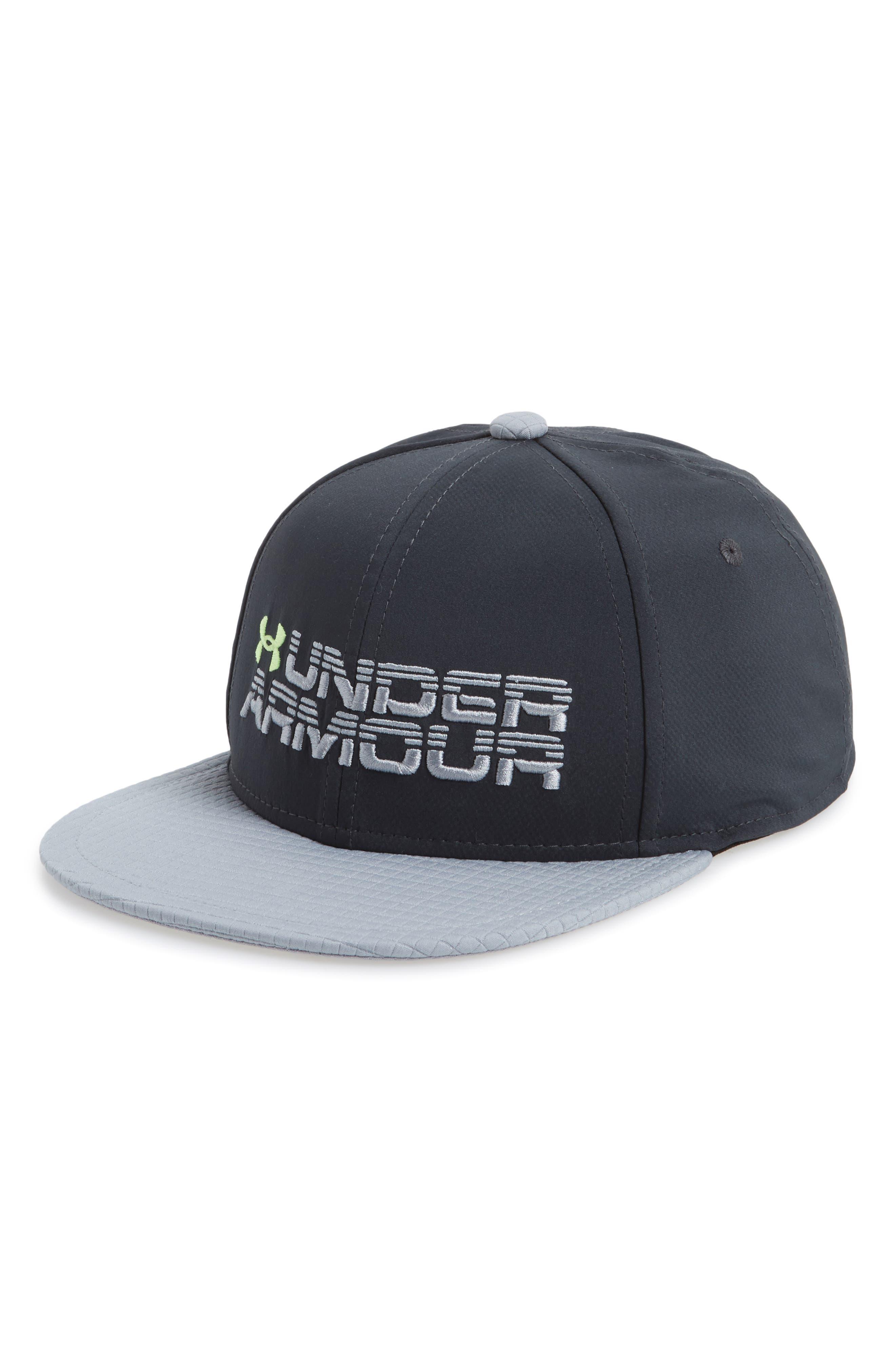 Under Armour Logo Snapback Hat (Big Boys)