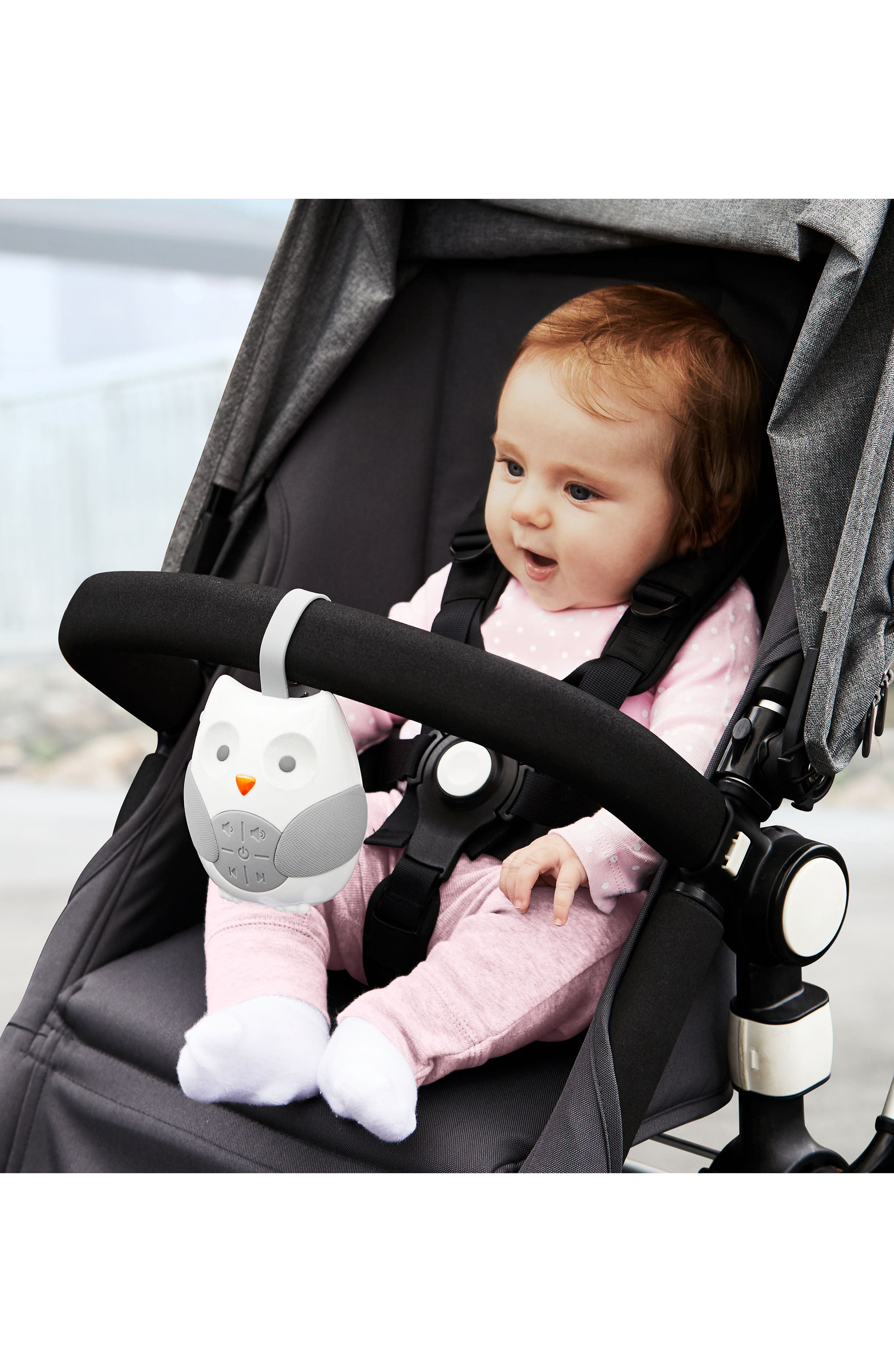 Stroll & Go Portable Baby Soother,                             Alternate thumbnail 2, color,                             White