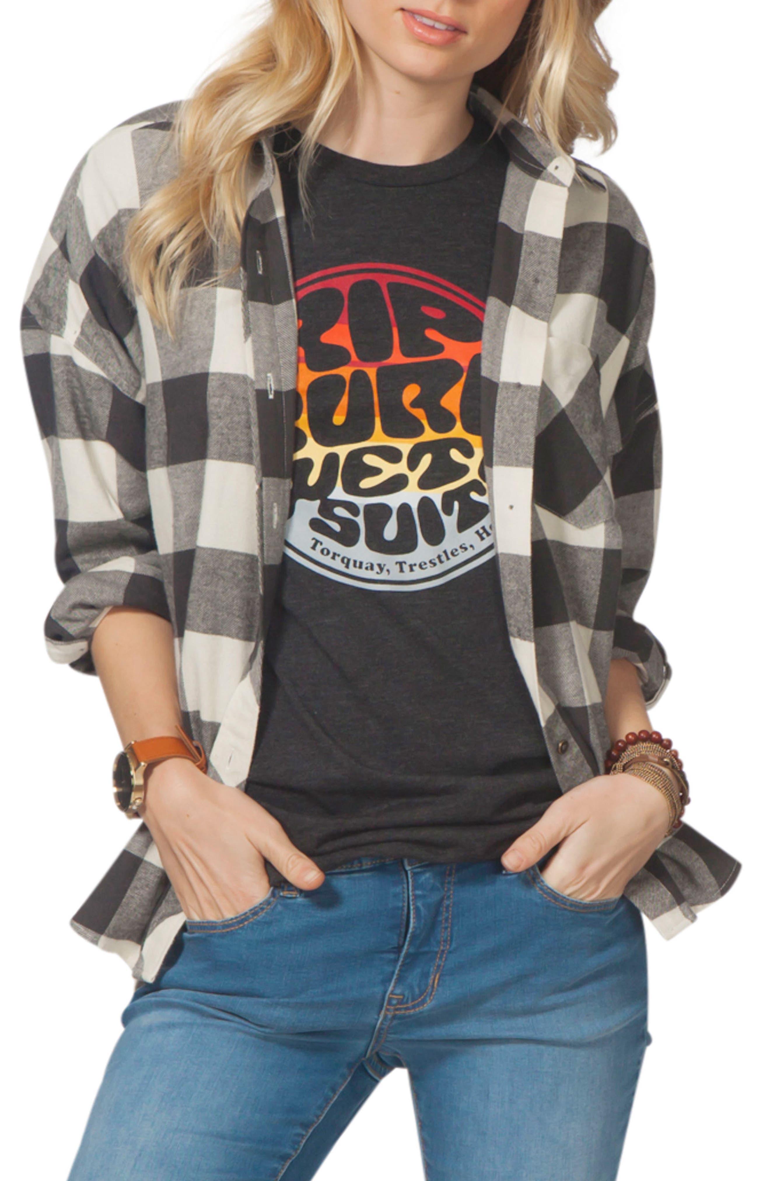 Alternate Image 1 Selected - Rip Curl Marli Flannel Top