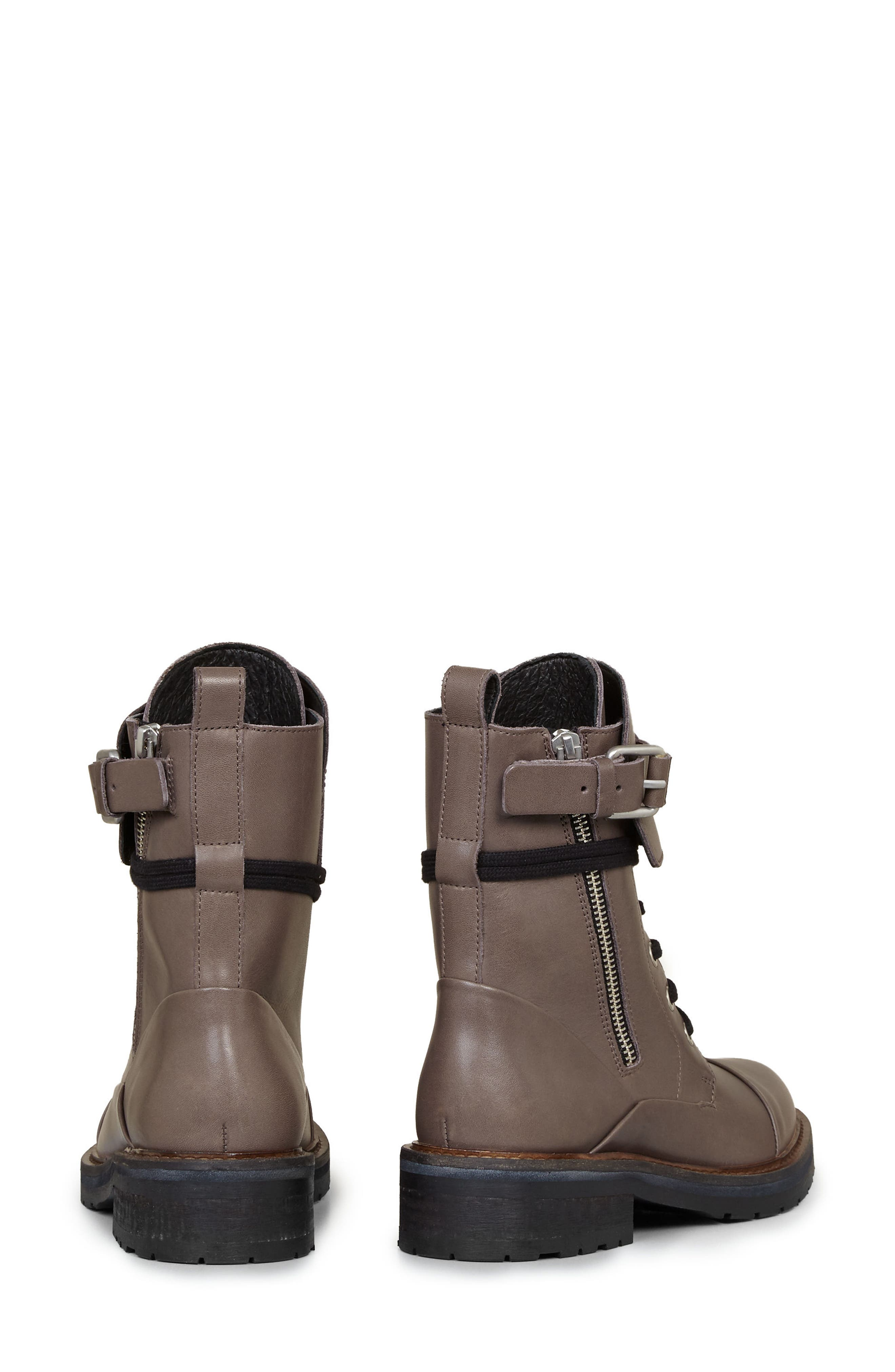 Alternate Image 3  - ALLSAINTS Daria Cuffed Combat Boot (Women)