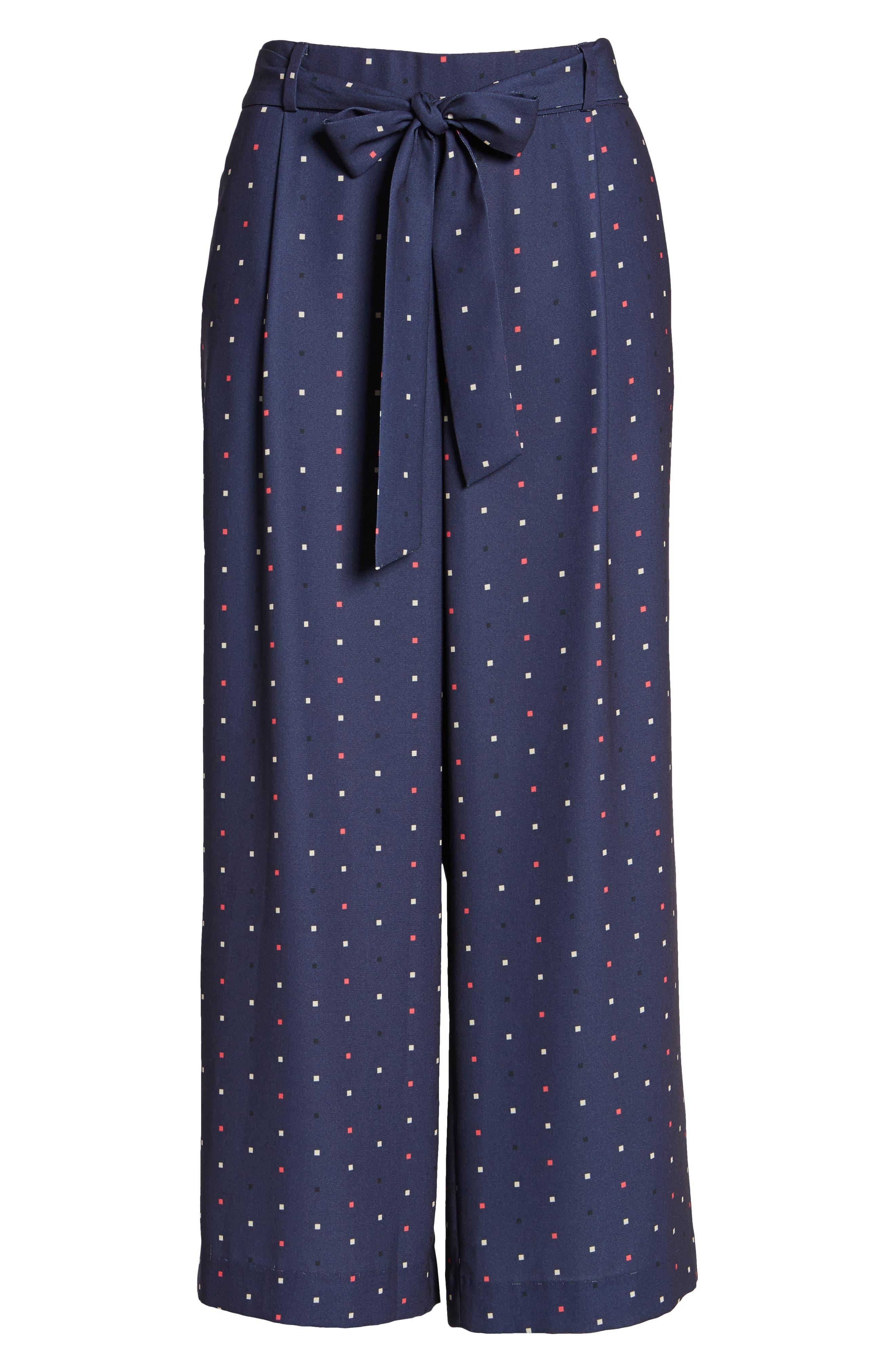 Alternate Image 6  - Halogen® Wide Leg Crop Pants (Regular & Petite)