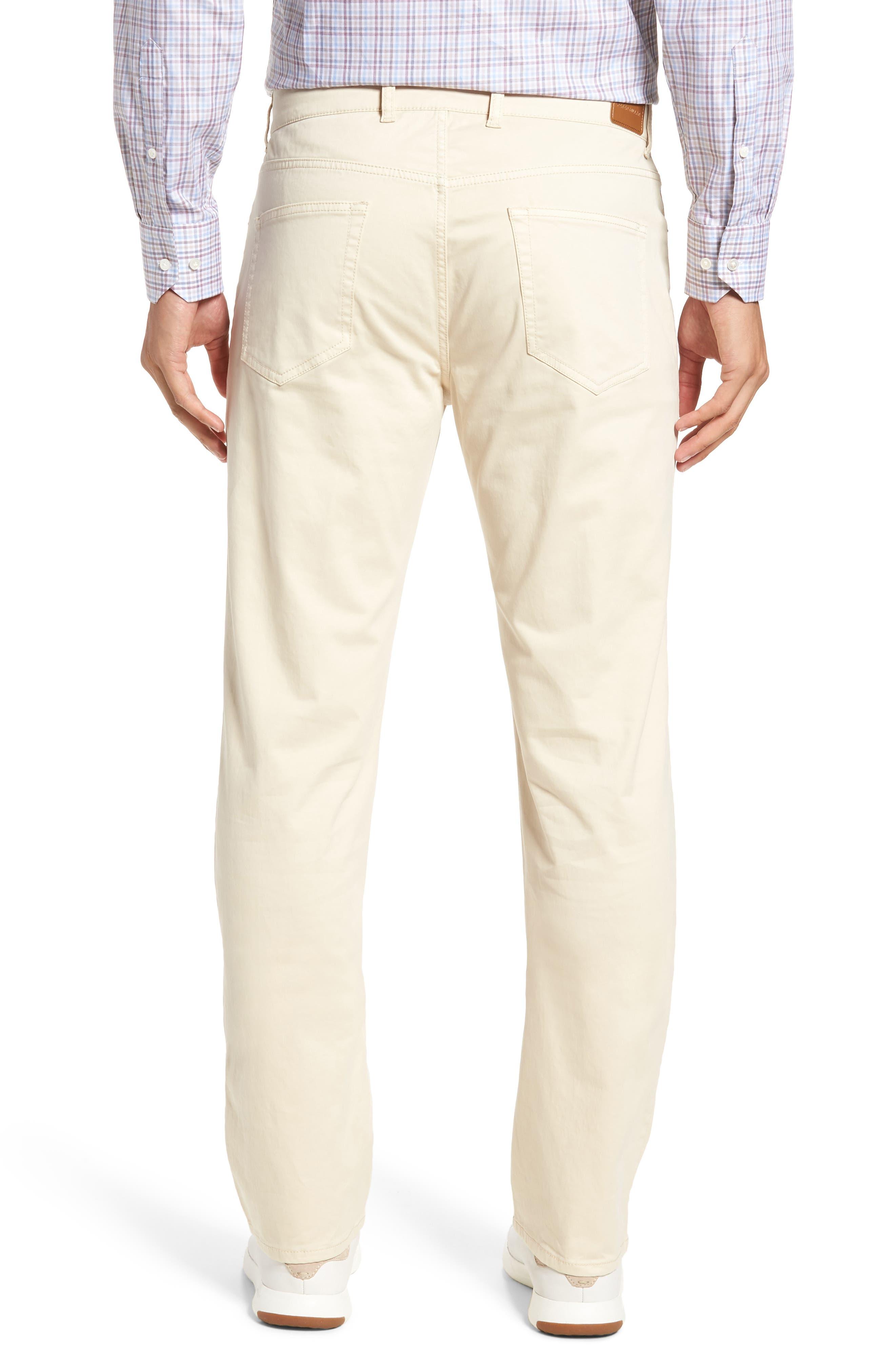 Stretch Sateen Five-Pocket Pants,                             Alternate thumbnail 2, color,                             Light Sand