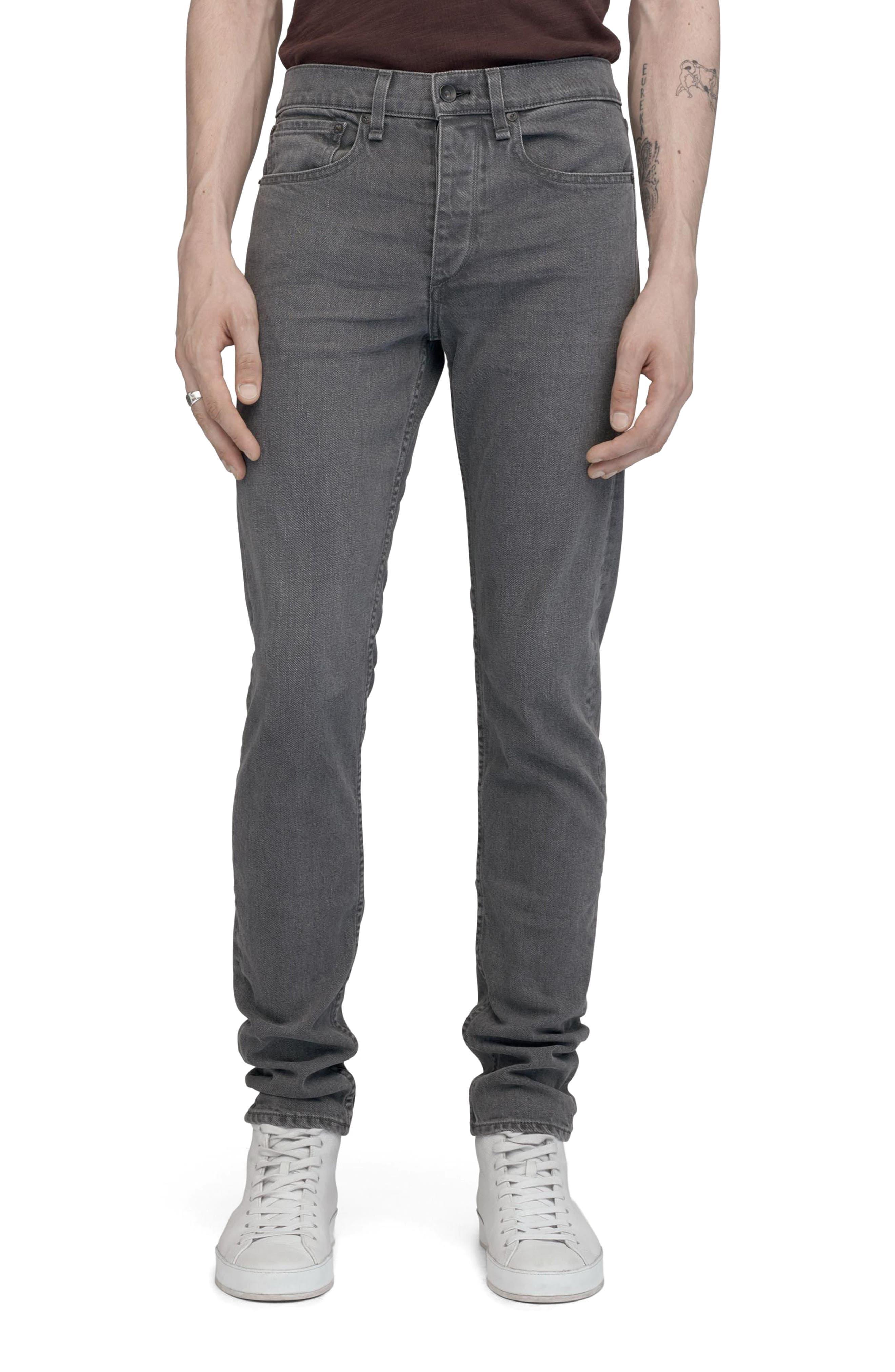 Alternate Image 1 Selected - rag & bone Fit 1 Skinny Fit Jeans (Vesuvio)