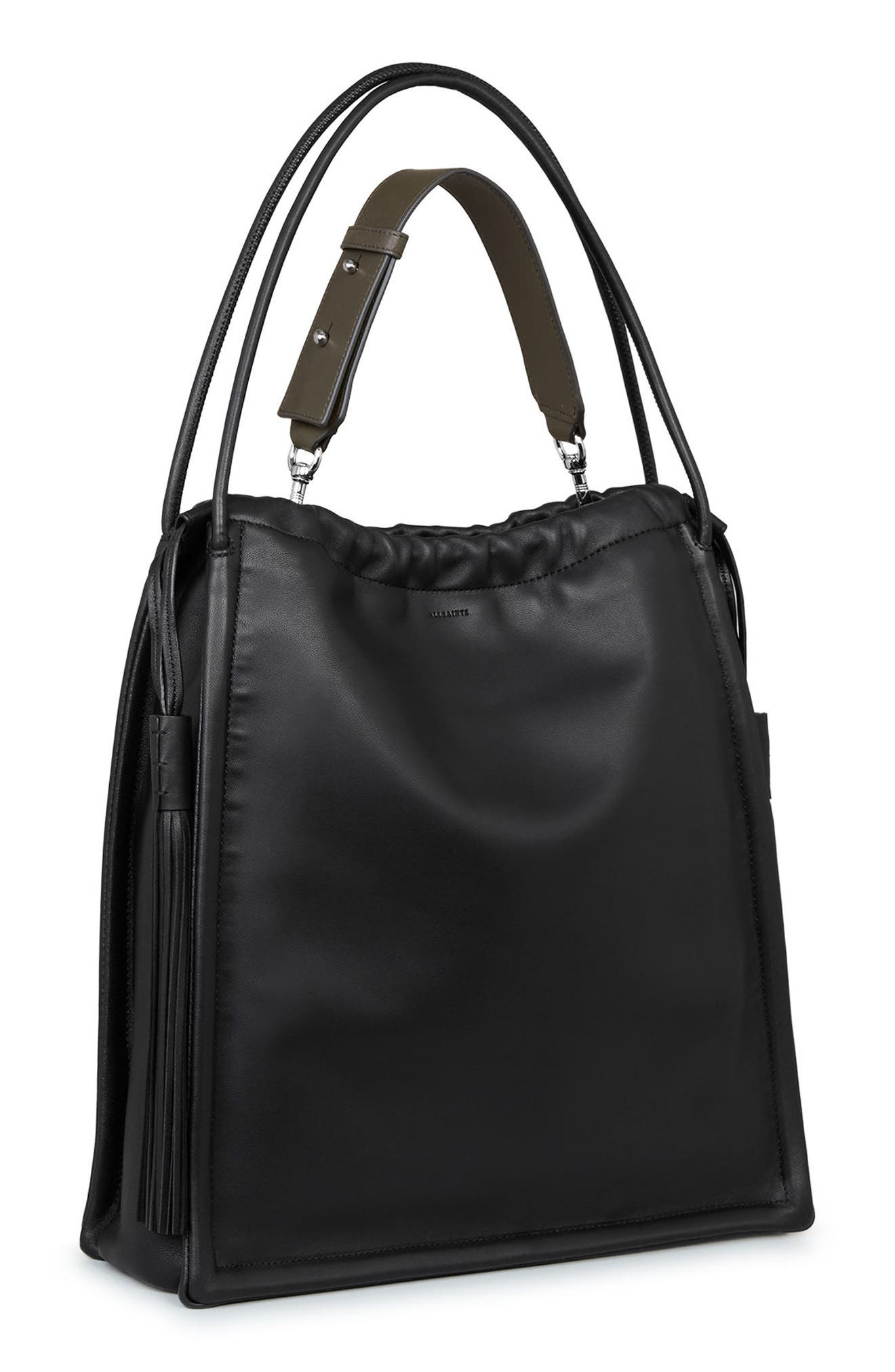 Alternate Image 6  - ALLSAINTS Small Kita Convertible Leather Backpack