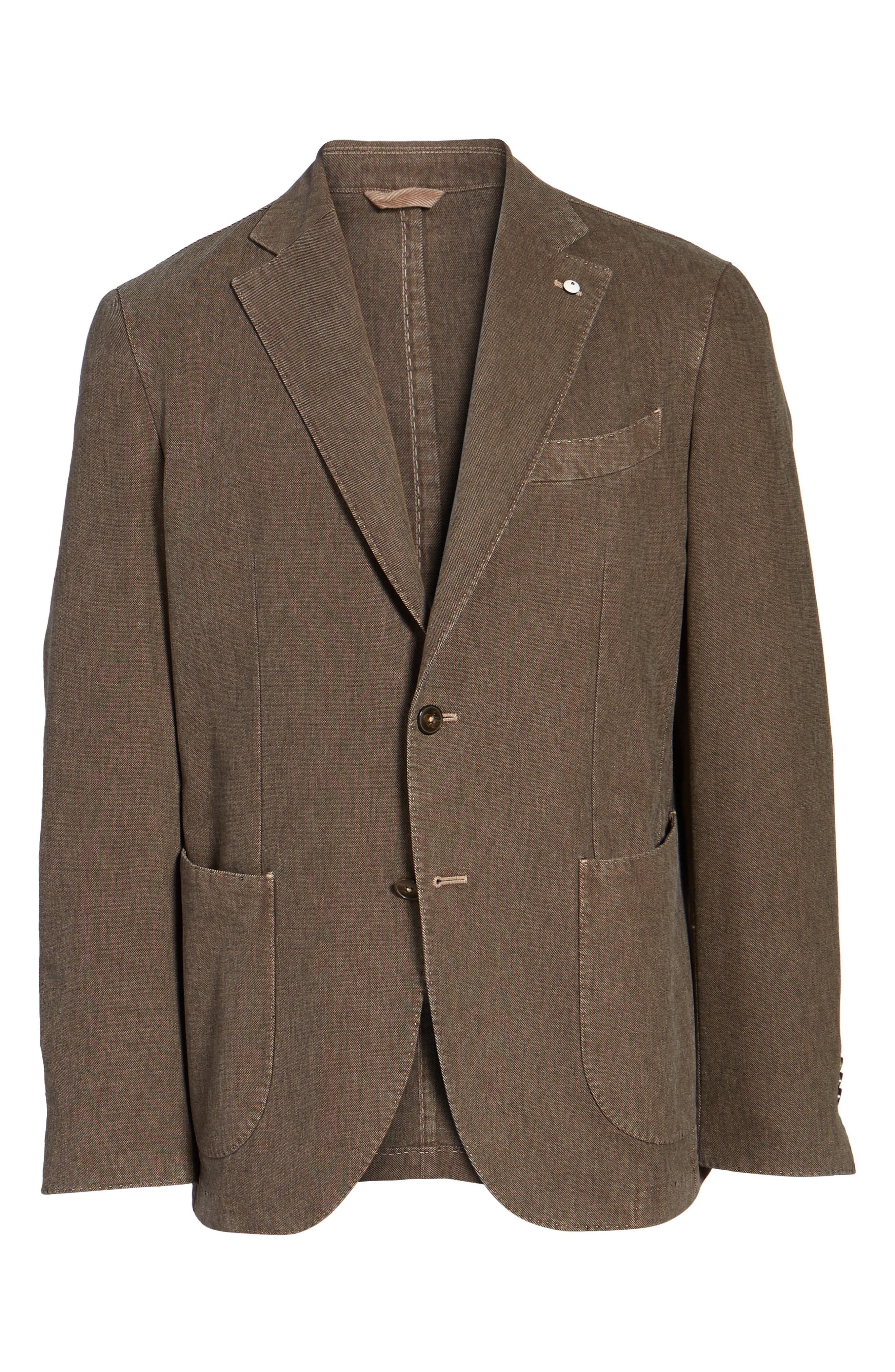 Alternate Image 6  - L.B.M. 1911 Classic Fit Cotton Blend Blazer