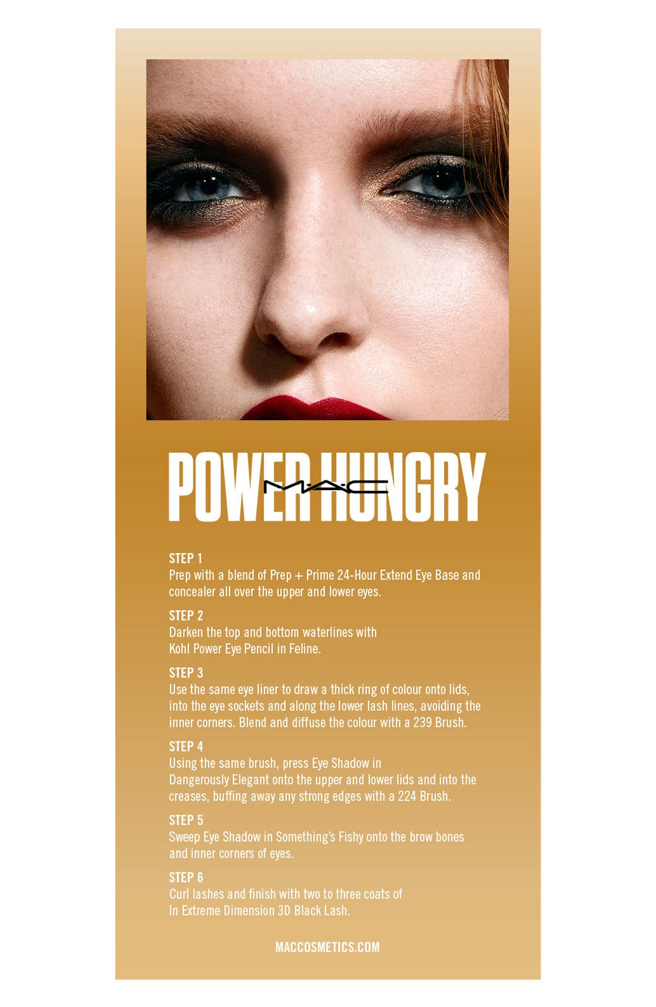MAC Girls Power Hungry Palette,                             Alternate thumbnail 4, color,                             Power Hungry