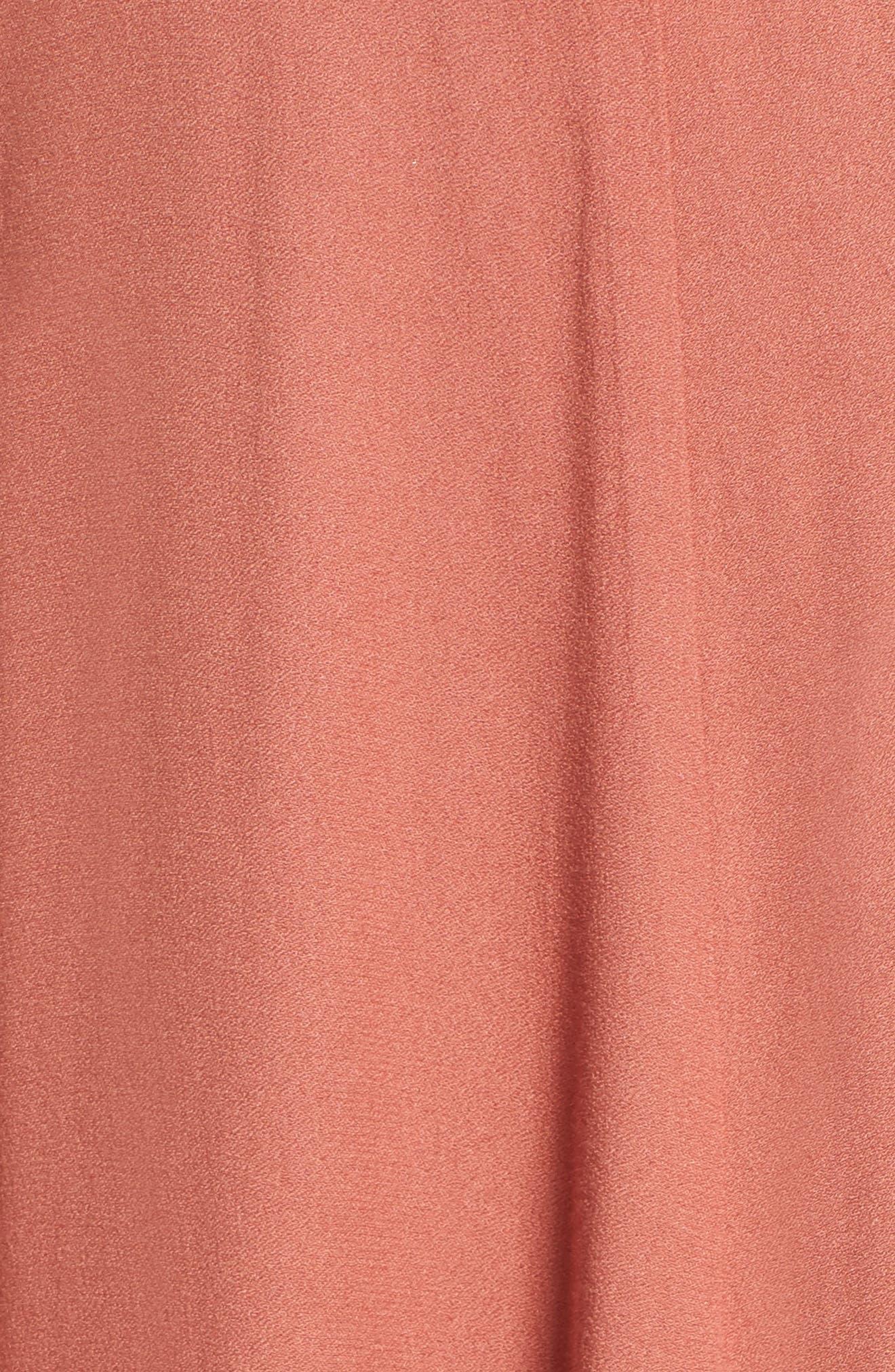 Alternate Image 5  - AFRM Harlean Halter Maxi Dress