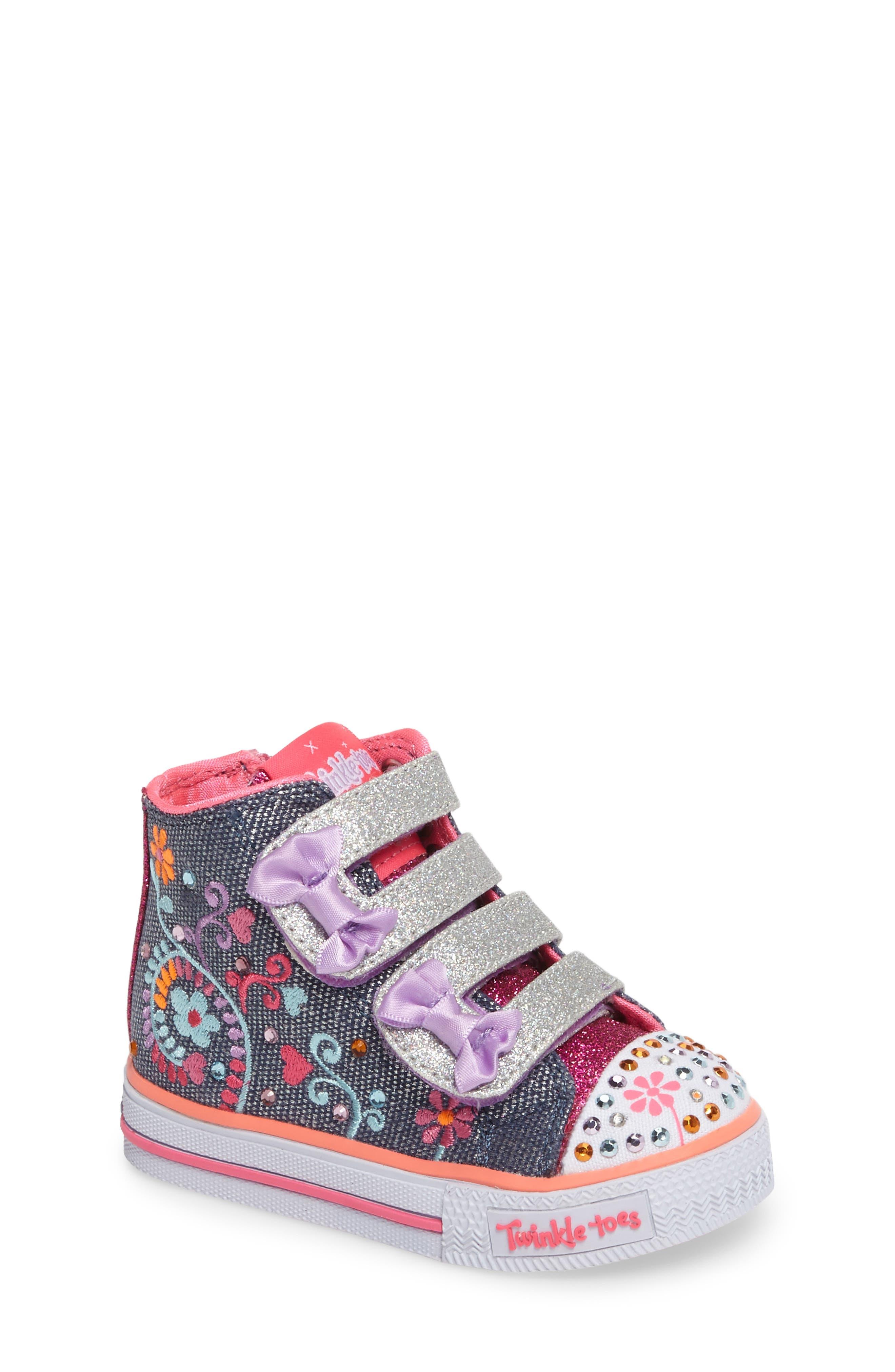 Alternate Image 1 Selected - SKECHERS Shuffles Sneaker (Walker & Toddler)
