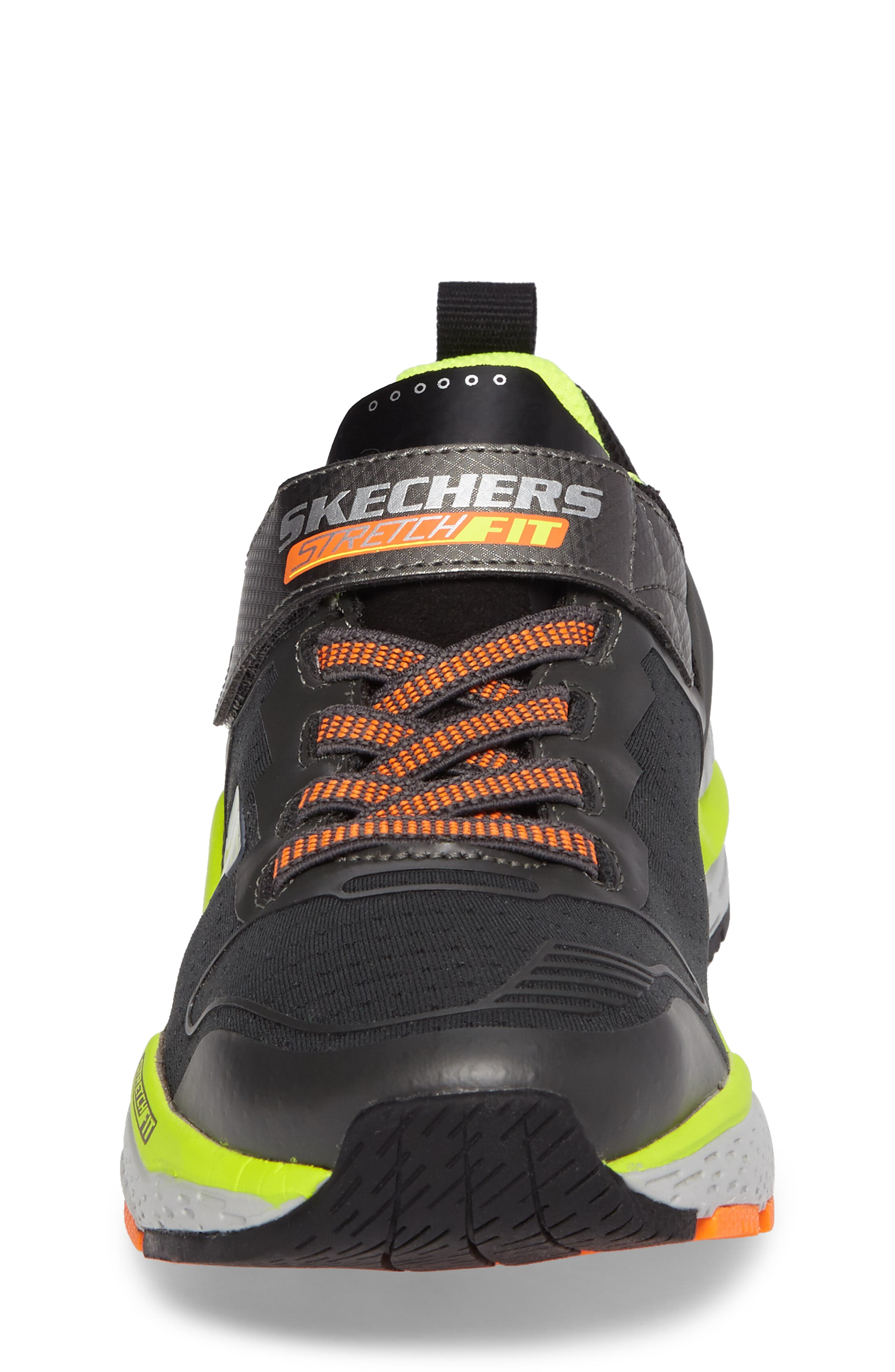 Hyperjolt Sneaker,                             Alternate thumbnail 4, color,                             Charcoal/ Black/ Lime