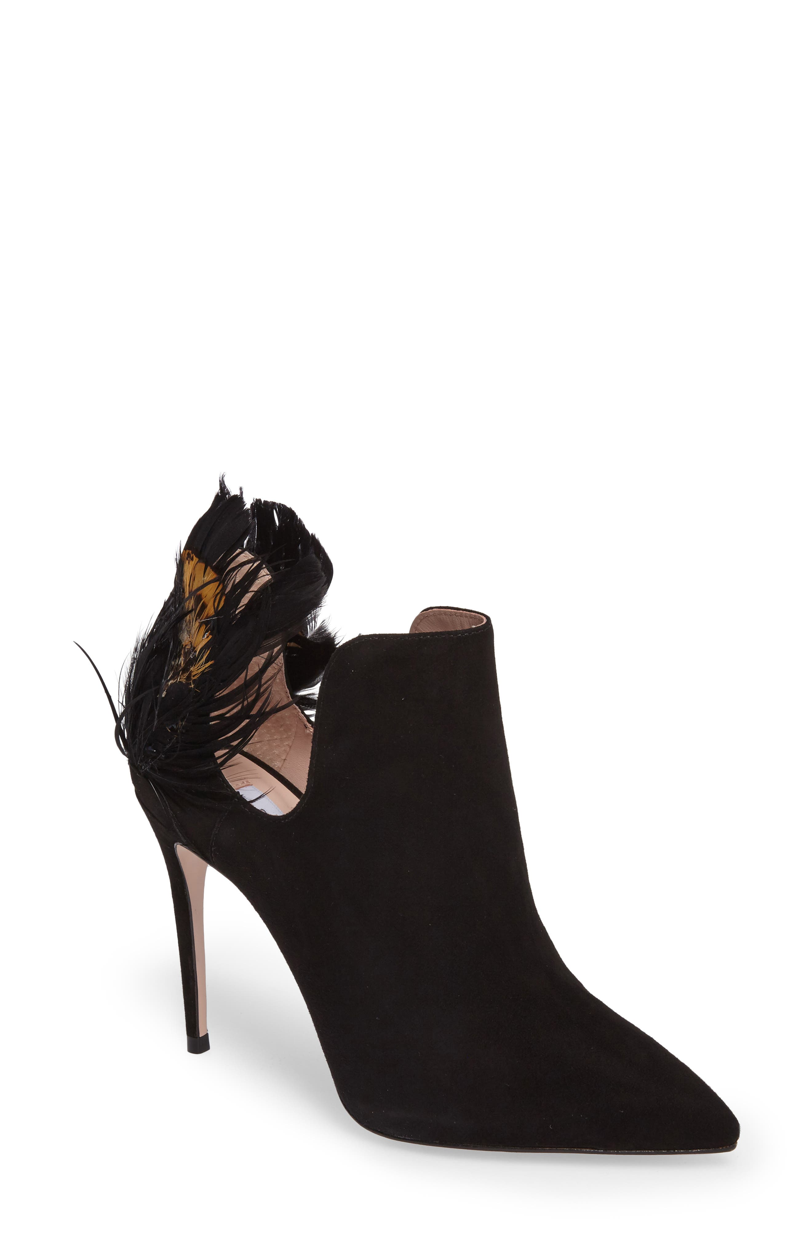 Alternate Image 1 Selected - James Chan Annabelle Feather Pump (Women)