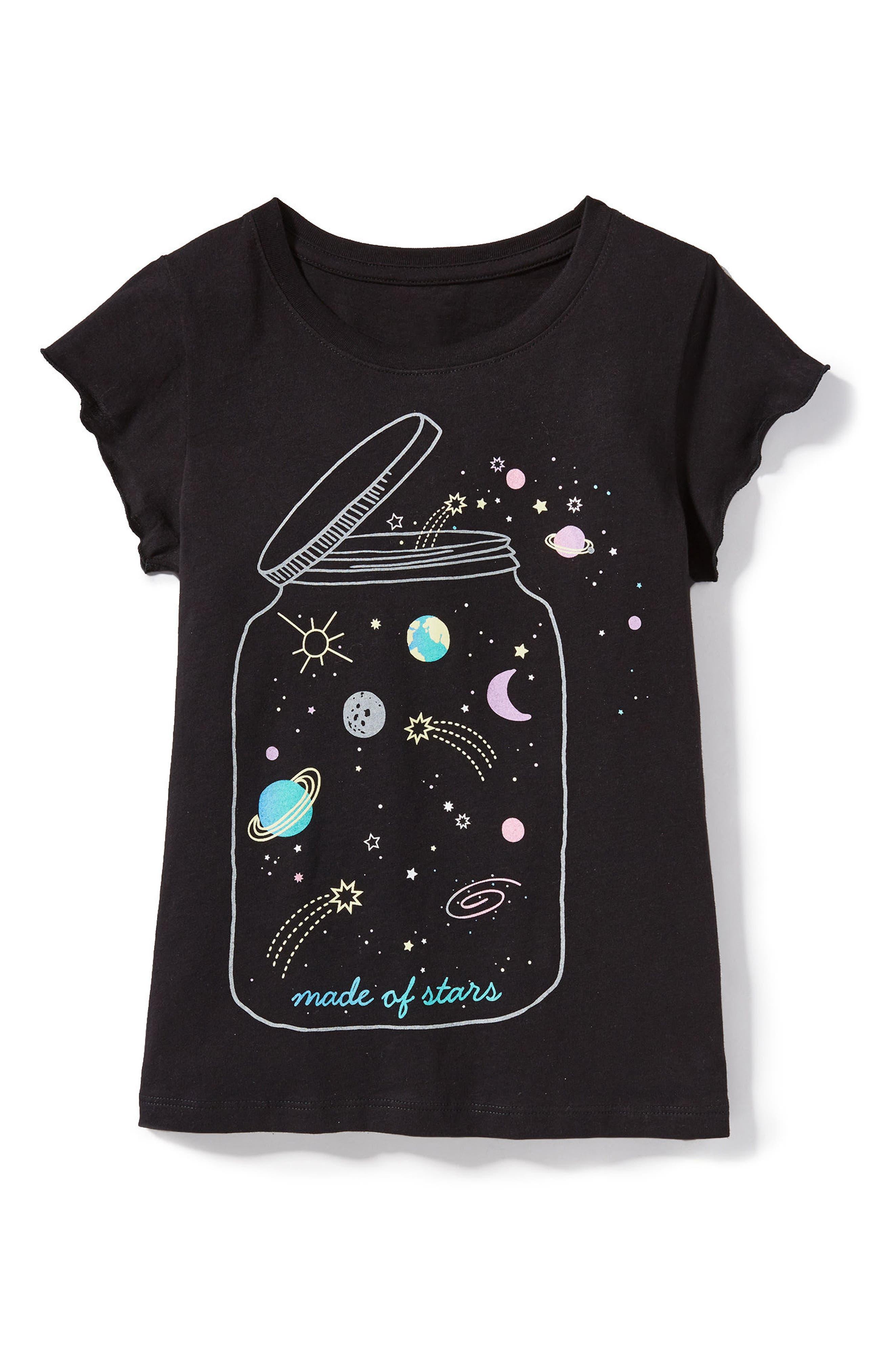 Peek Made of Stars Tee (Toddler Girls, Little Girls & Big Girls)