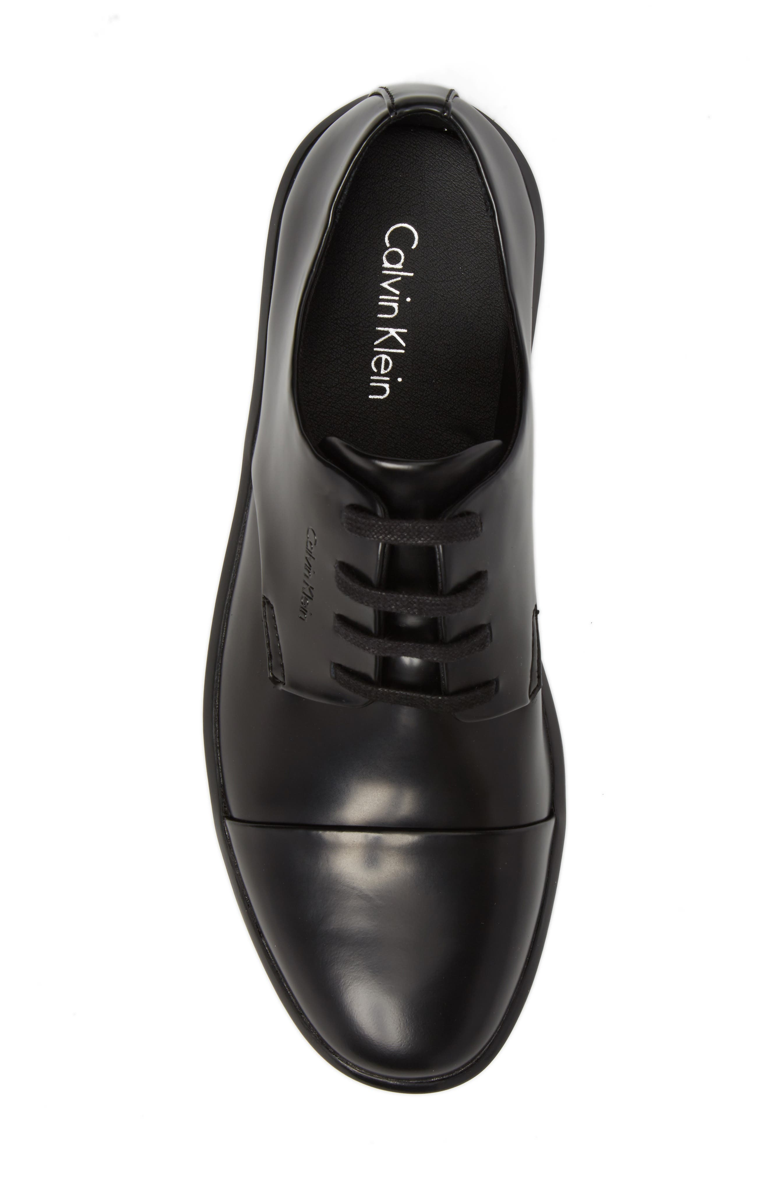 Alternate Image 5  - Calvin Klein Magnar Cap Toe Derby (Men)